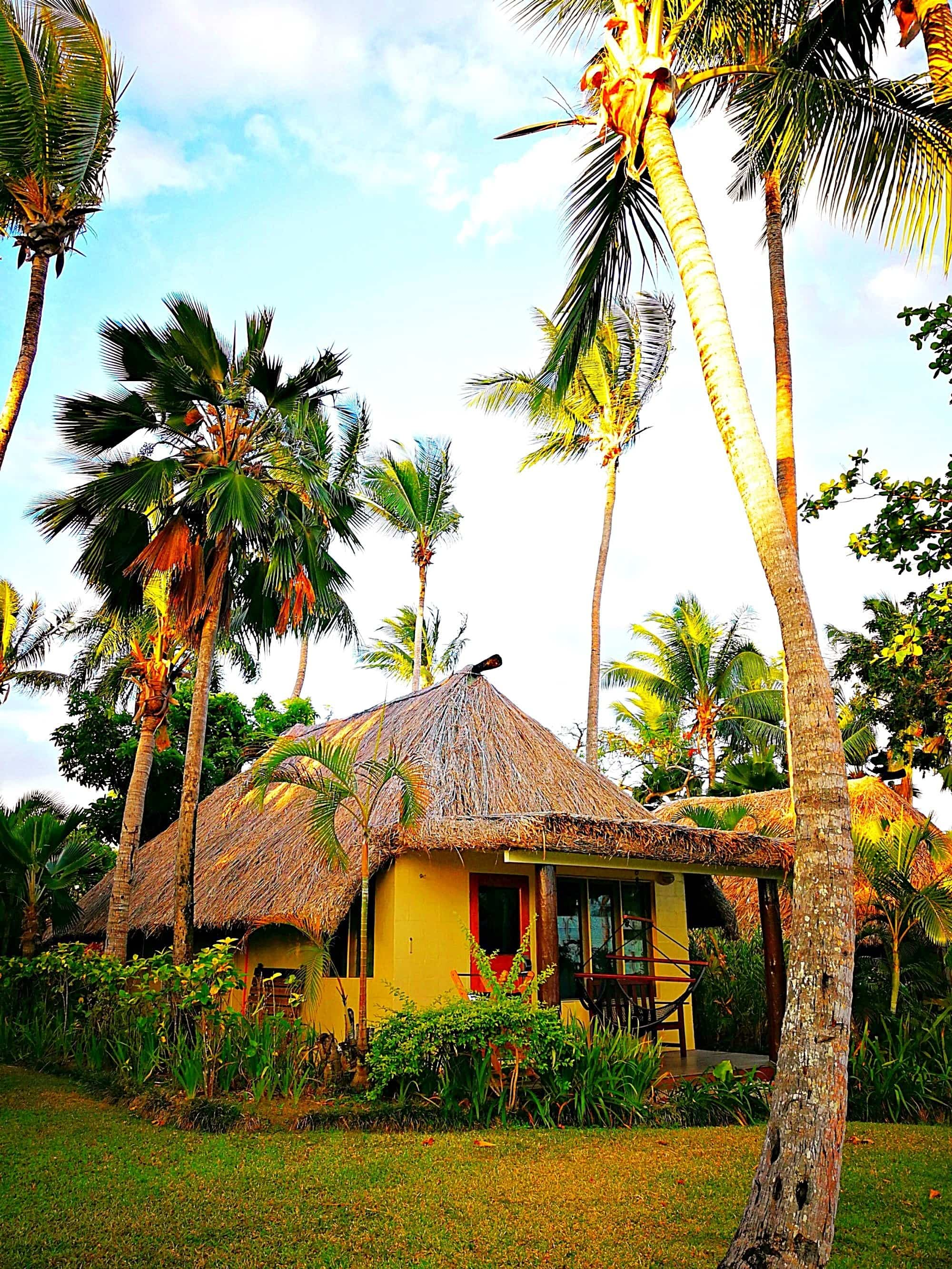 Our sweet bure by the beach at Outrigger Fiji Beach Resort ~ Fiji with Kids and Teens