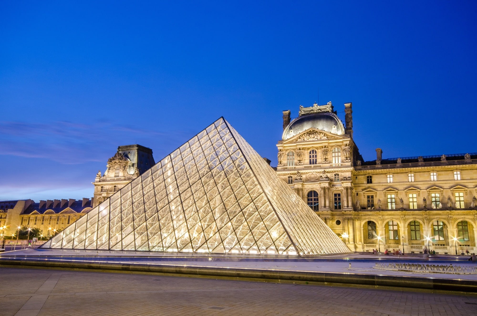 Old and new art collide at the Louvre in Paris