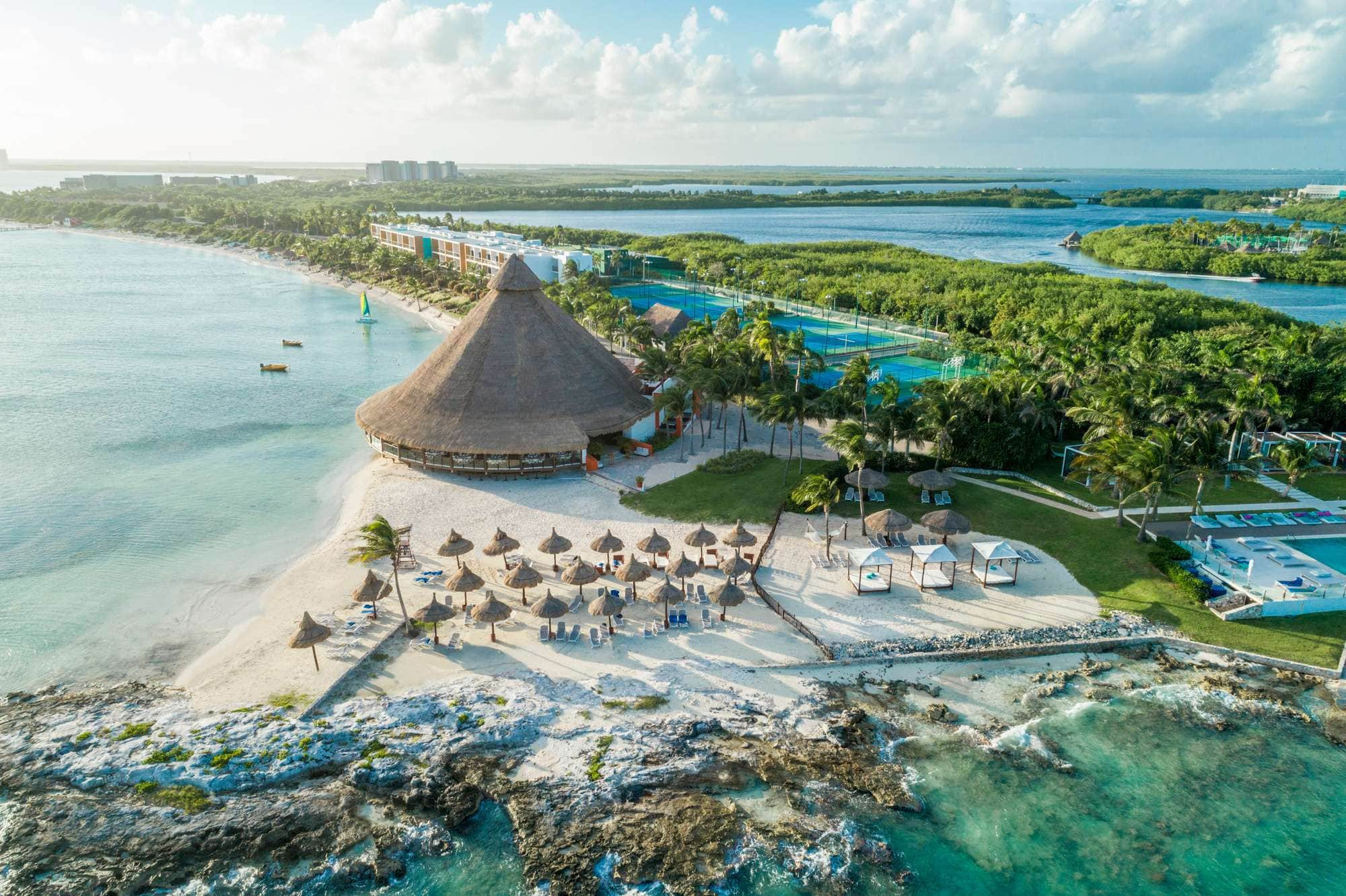 Club Med Cancun Yucatan is a beautiful hotel for families