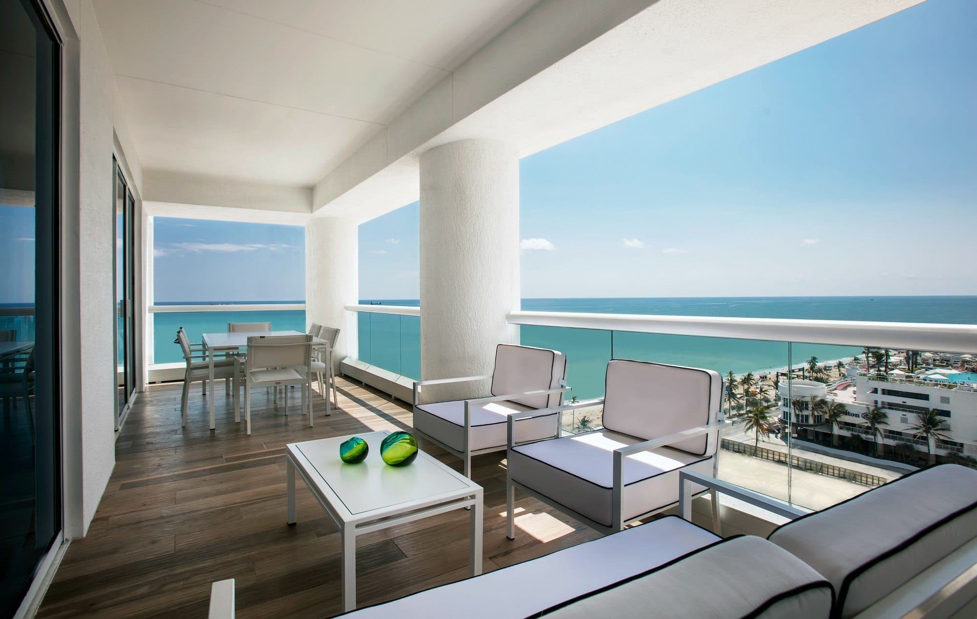 What a view at the Conrad Fort Lauderdale Beach!