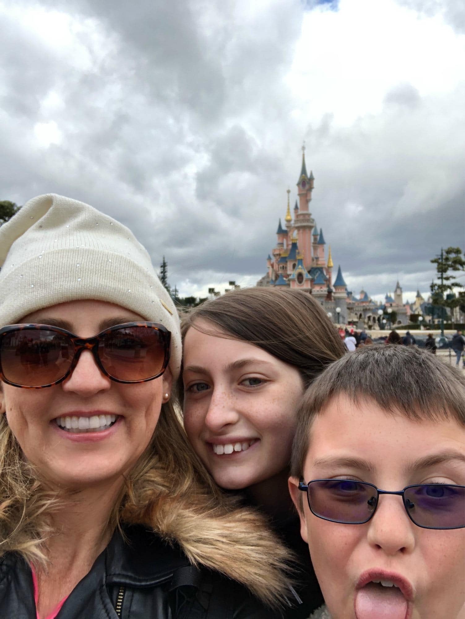 Some of my favorite memories of my family's trip to France took place at Disneyland Paris