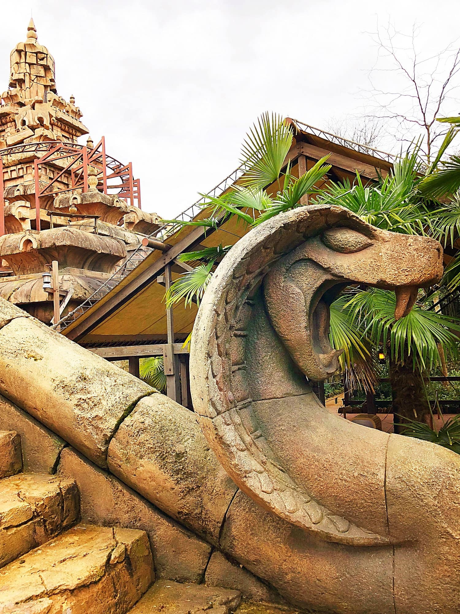 Indiana Jones and the Temple of Peril is an outdoor roller coaster at Disneyland Paris