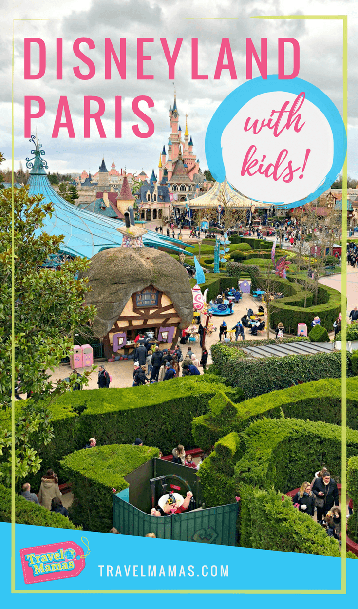 Disneyland Paris with Kids ~ A Disney Park with a French Accent