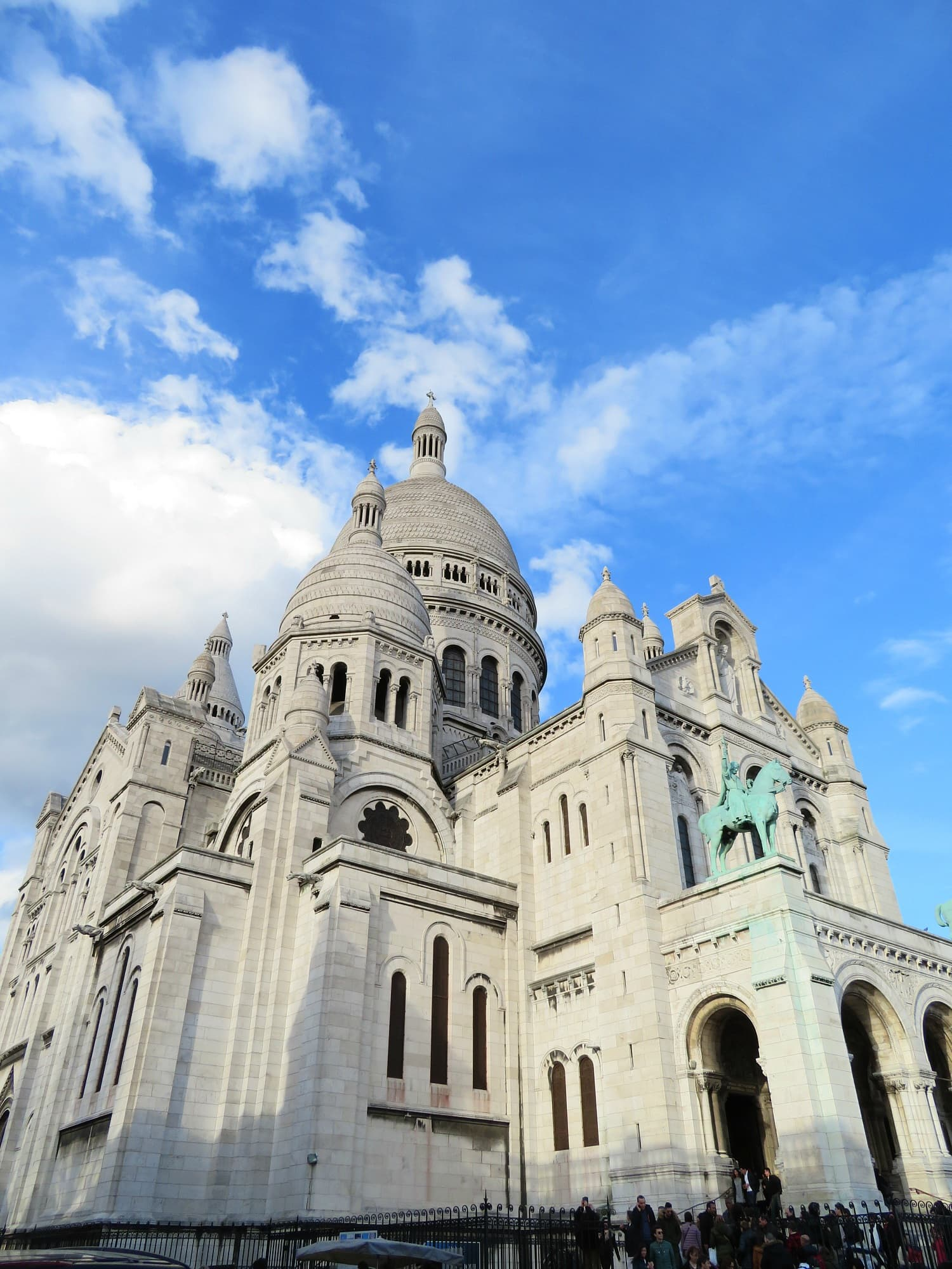 Sacre Coeur Basilica is beautiful inside and out