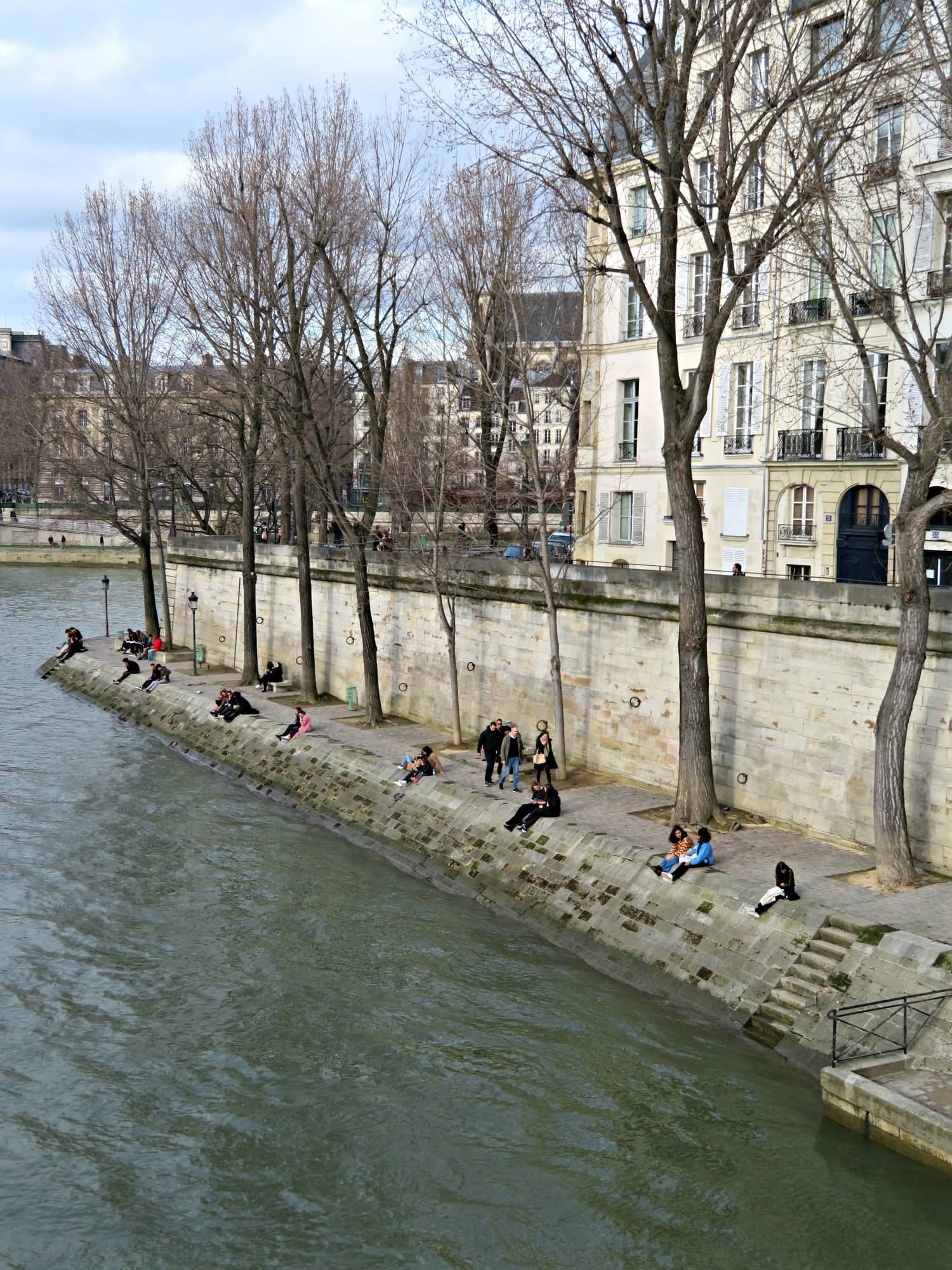 Your tour of Paris with kids may include a ride on the Seine River