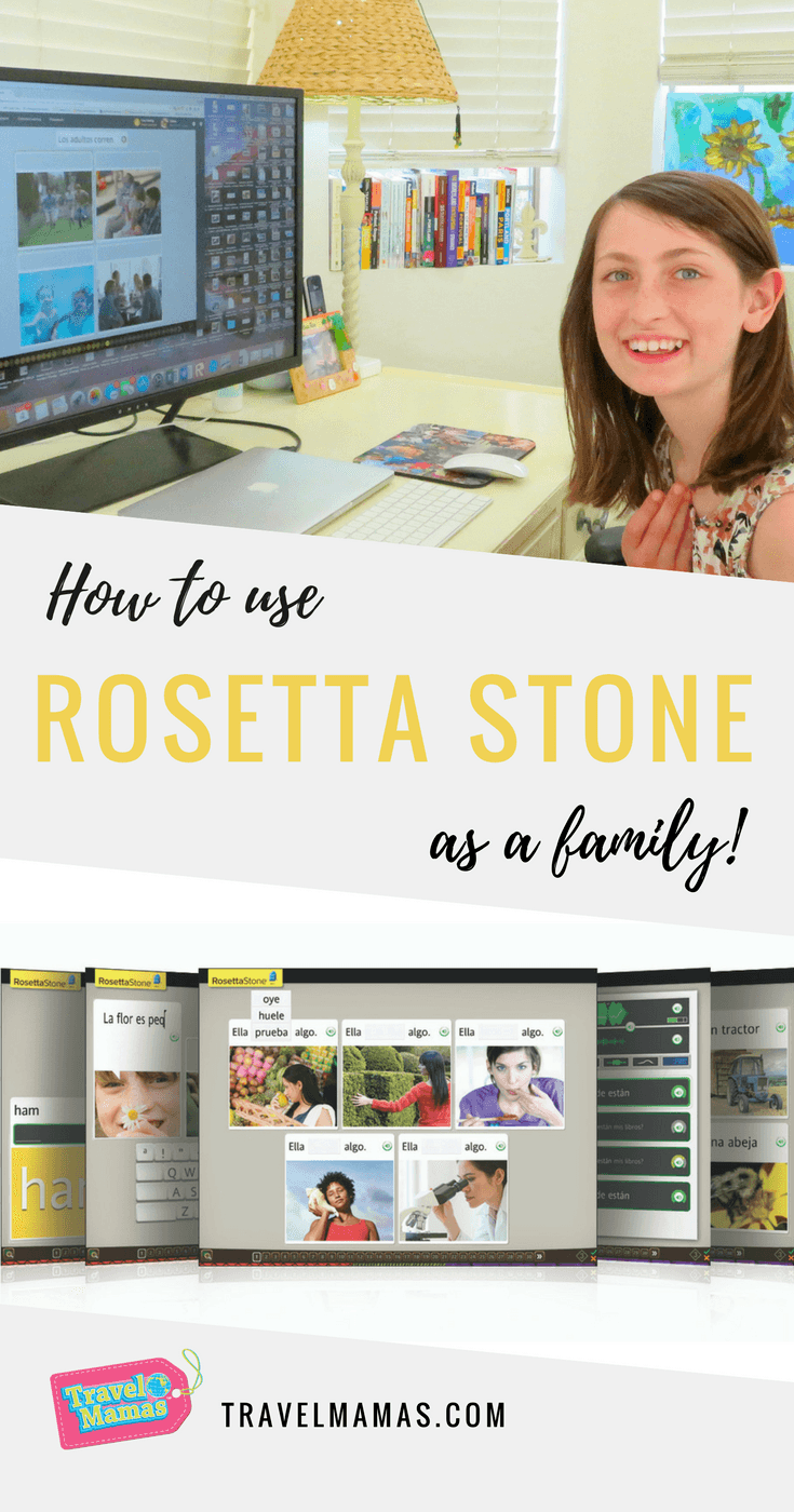 Rosetta Stone for Families Review ~ Learn a New Language with Your Kids