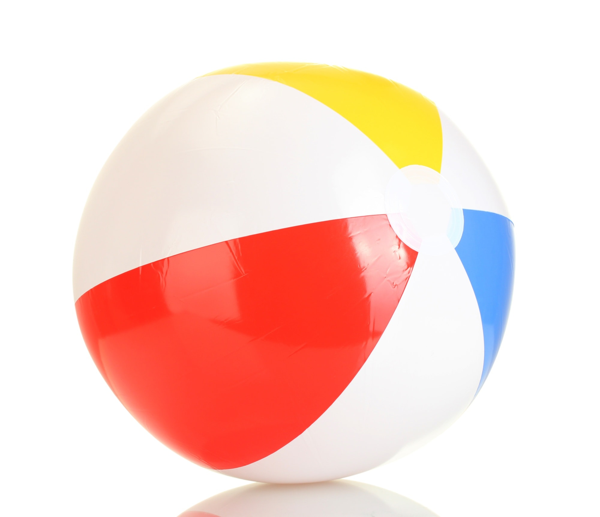 Pack a beach ball for pit stops and beach play on family vacation
