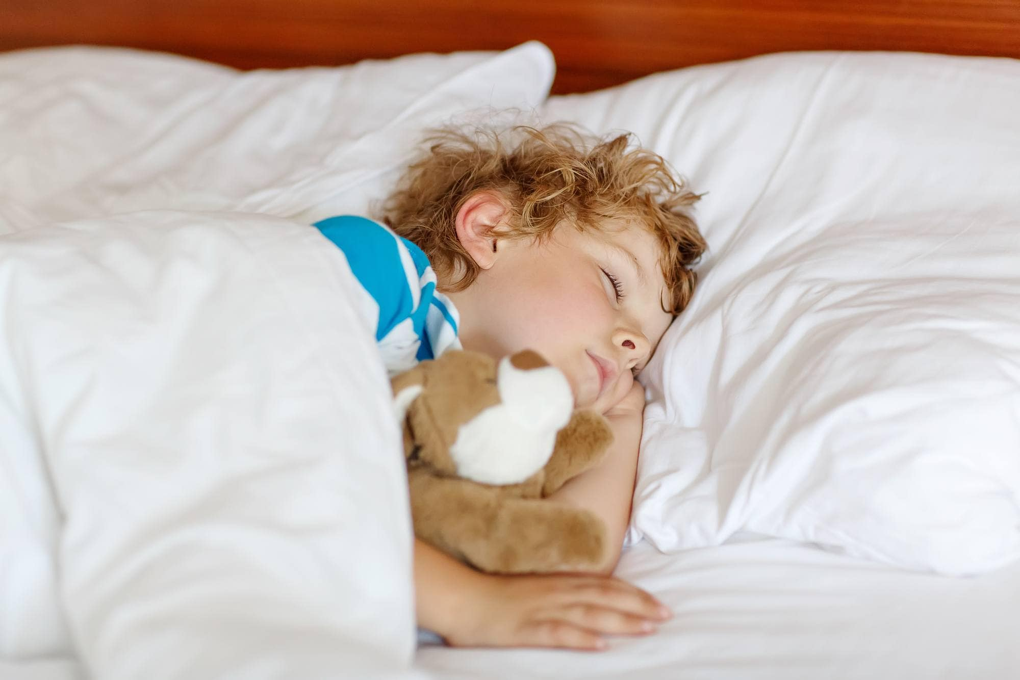 Bringing a sheet from home can make a hotel smell and feel more familiar for young children