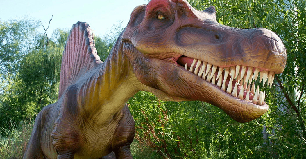 Kids and adults alike dig the dinos at Dinosaurs Alive at Canada's Wonderland