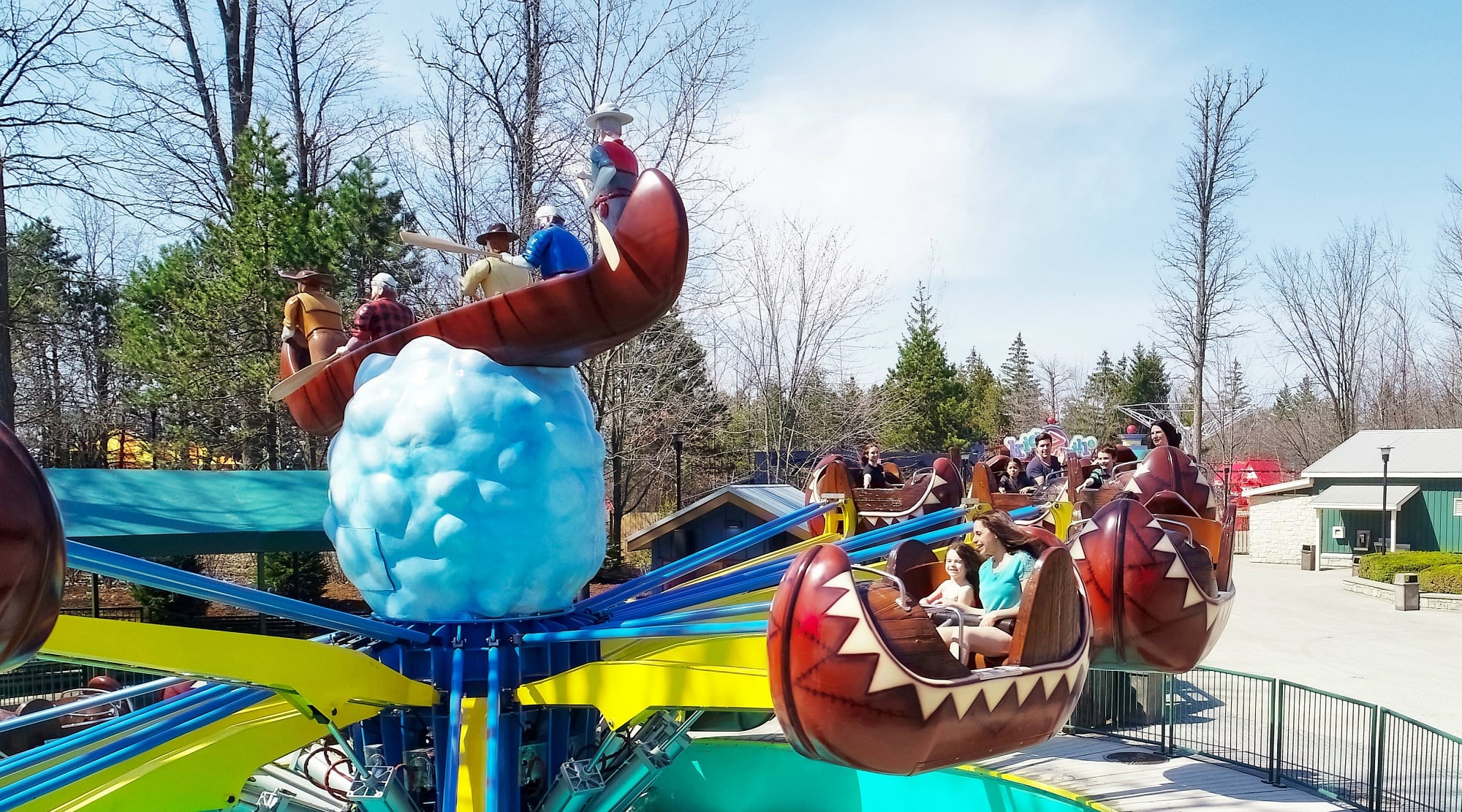Flying Canoes is new to the Canada's Wonderland for 2018