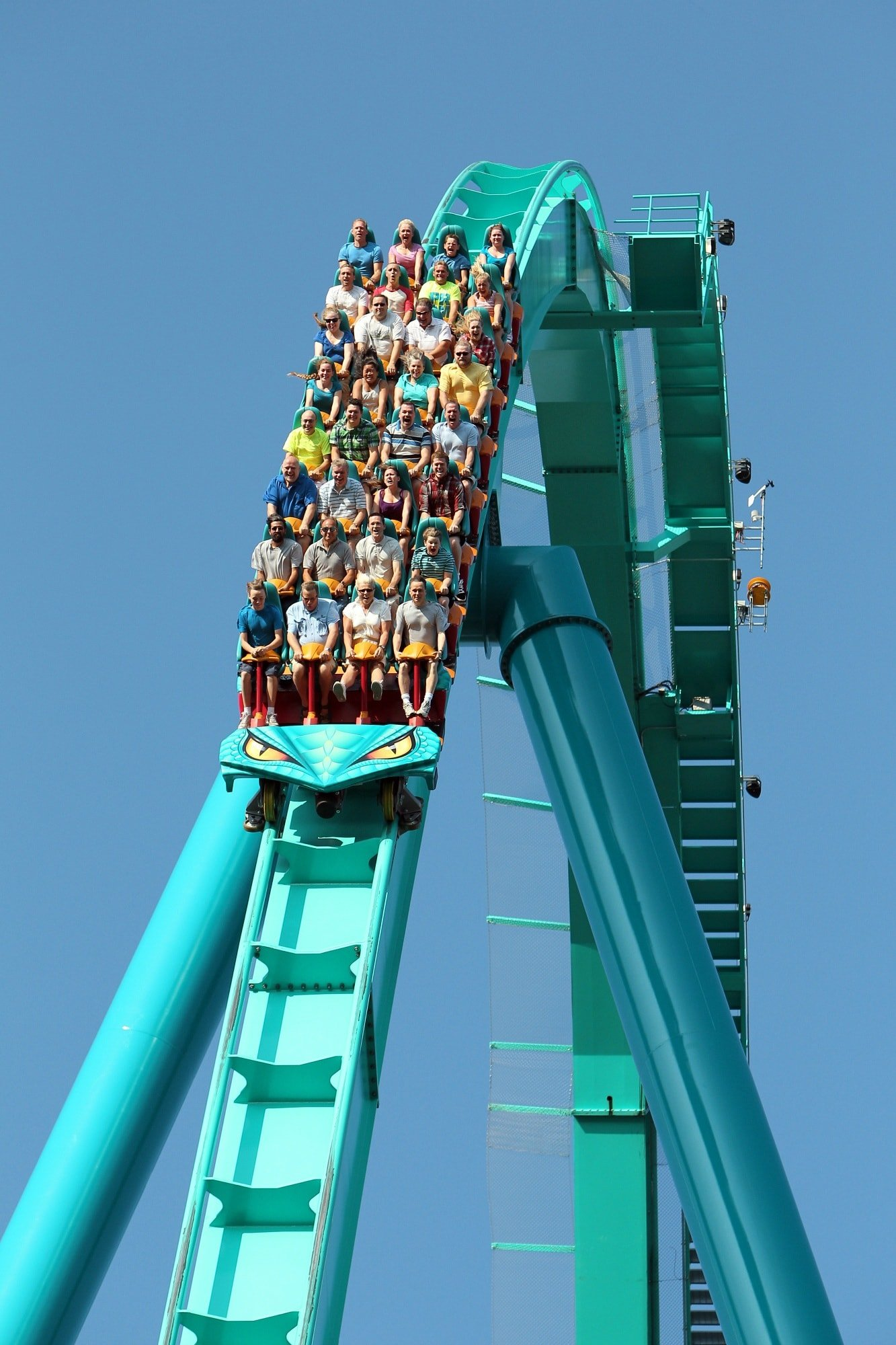 Would you dare take a ride on Leviathon at Canada's Wonderland, the tallest and fastest roller coaster in Canada?