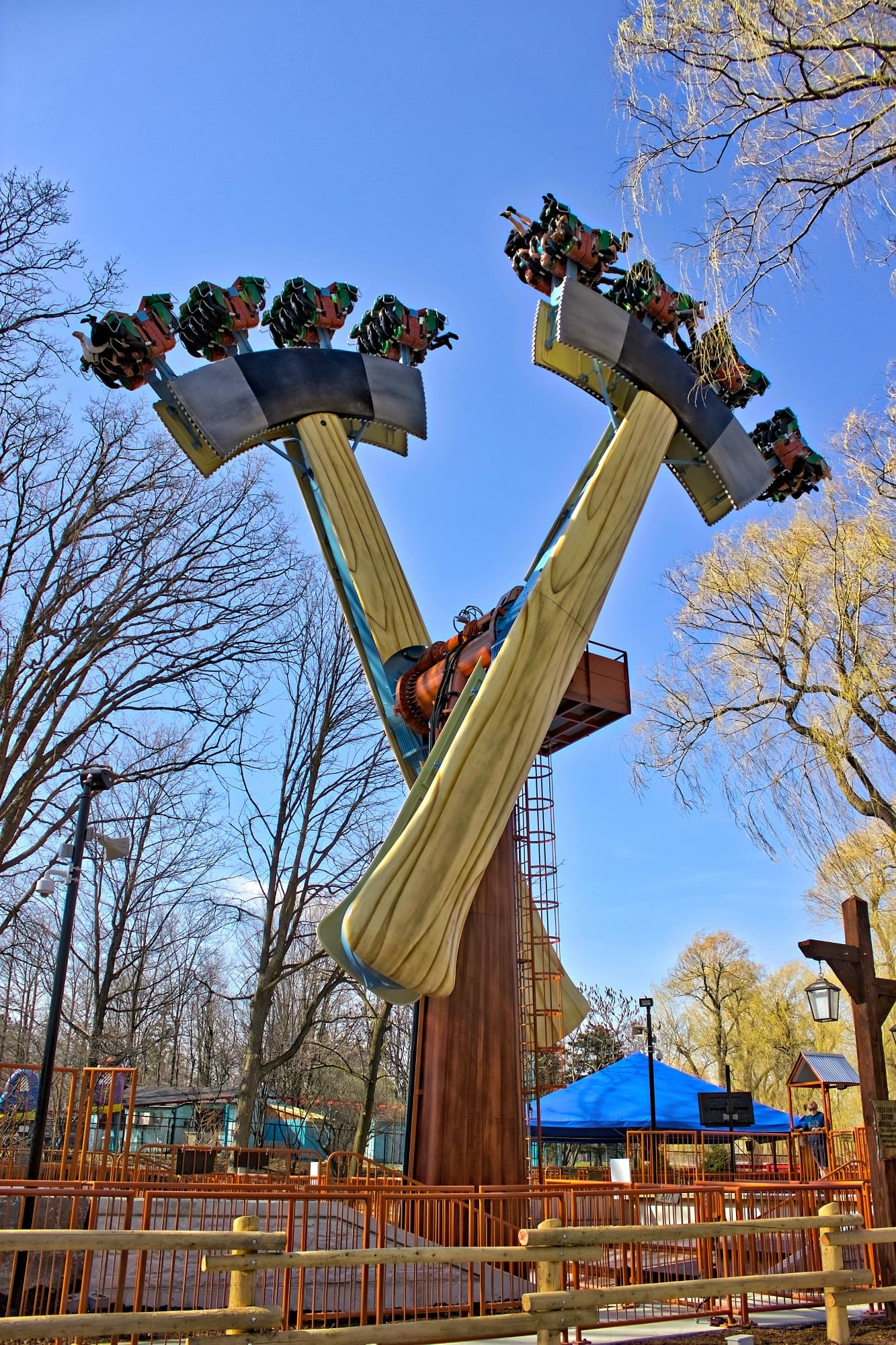 Lumberjack is the newest thrill ride at Canada's Wonderland