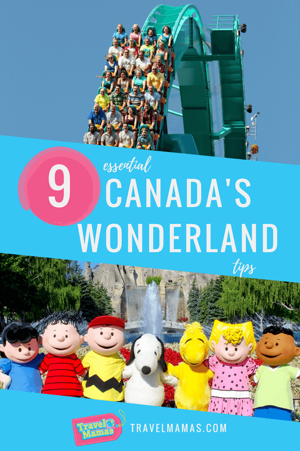 Tips for visiting Canada's Wonderland in Toronto