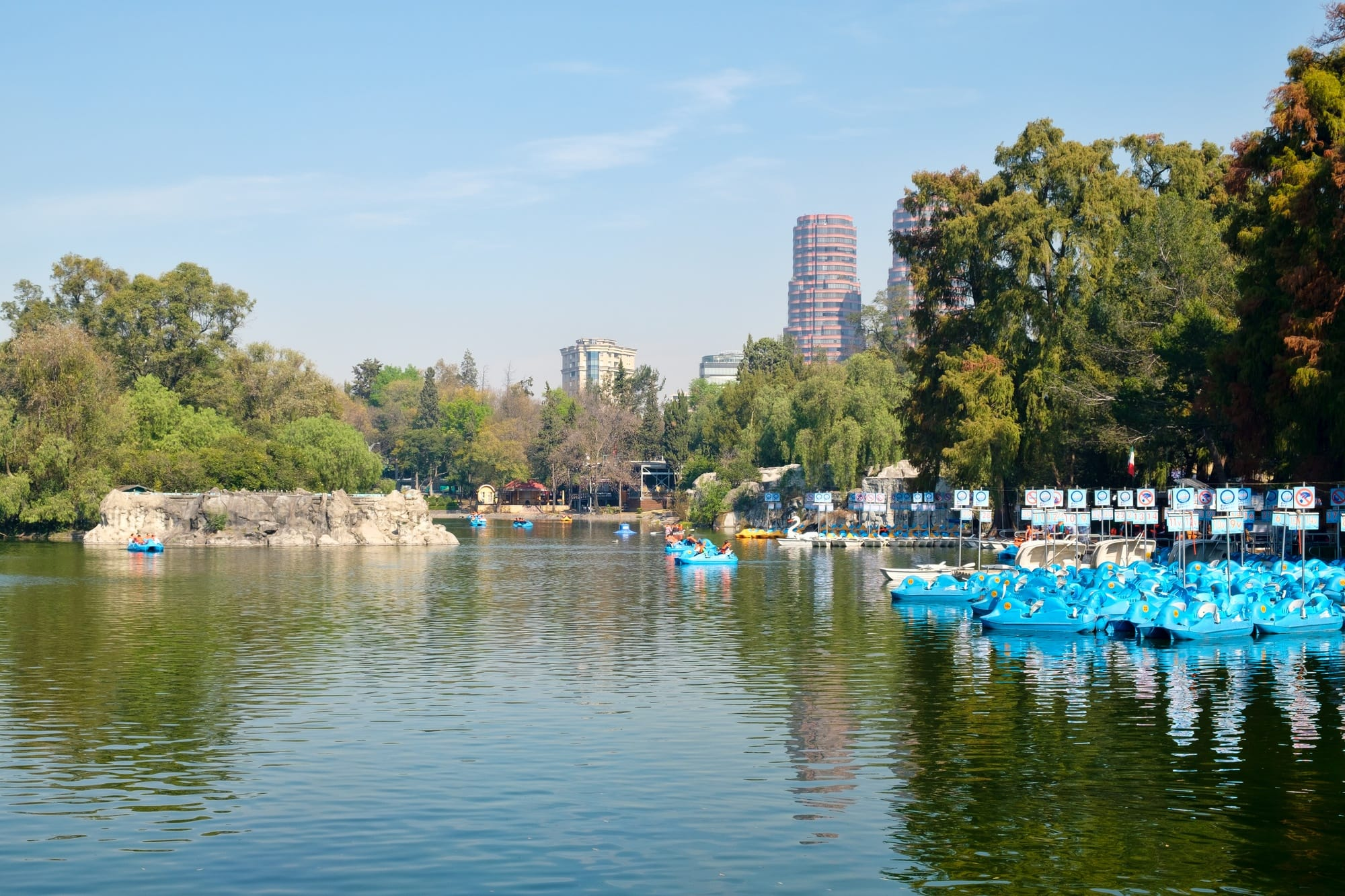 Family activities abound at Chapultepec Park in Mexico City with kids