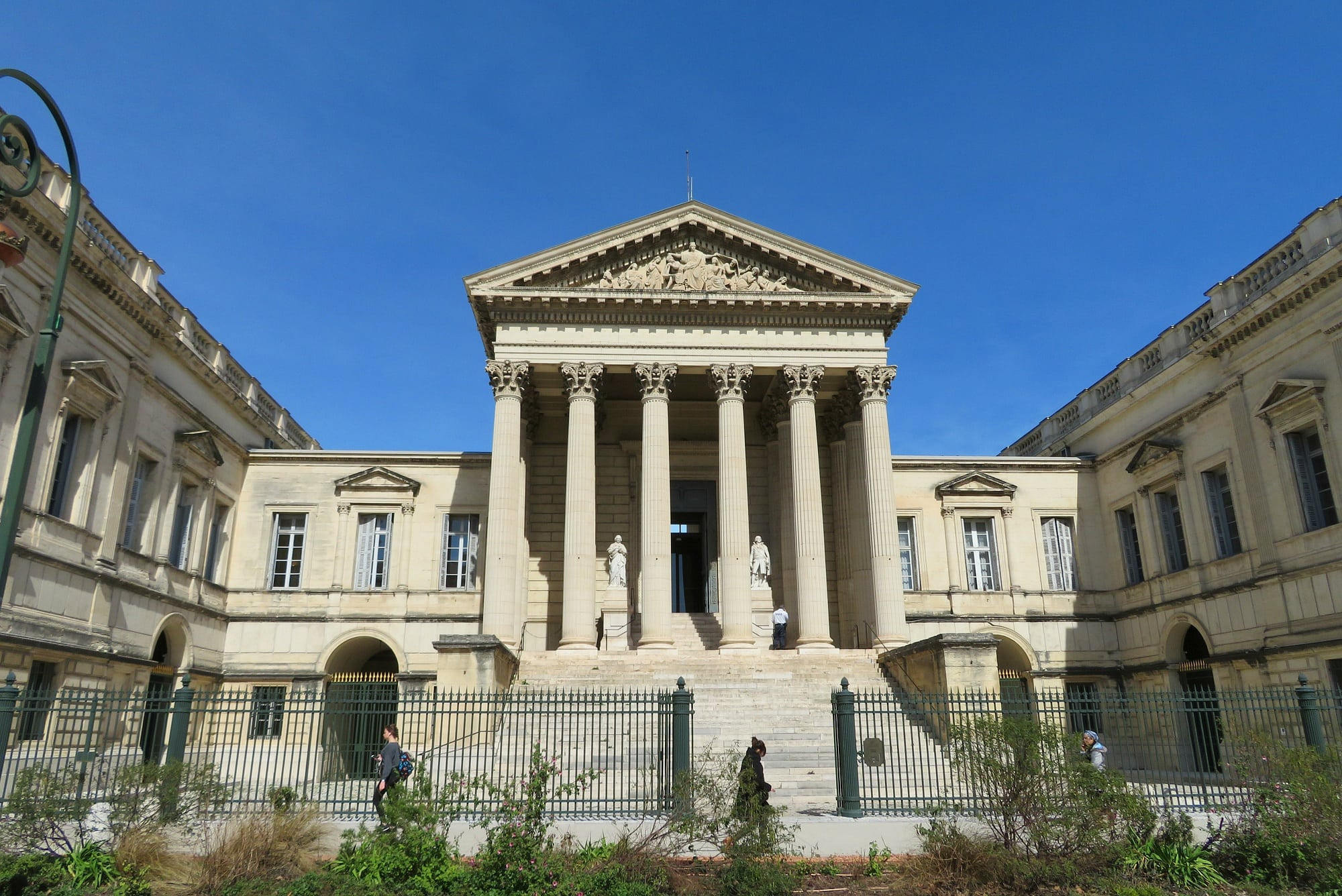 Montpellier's courthouse