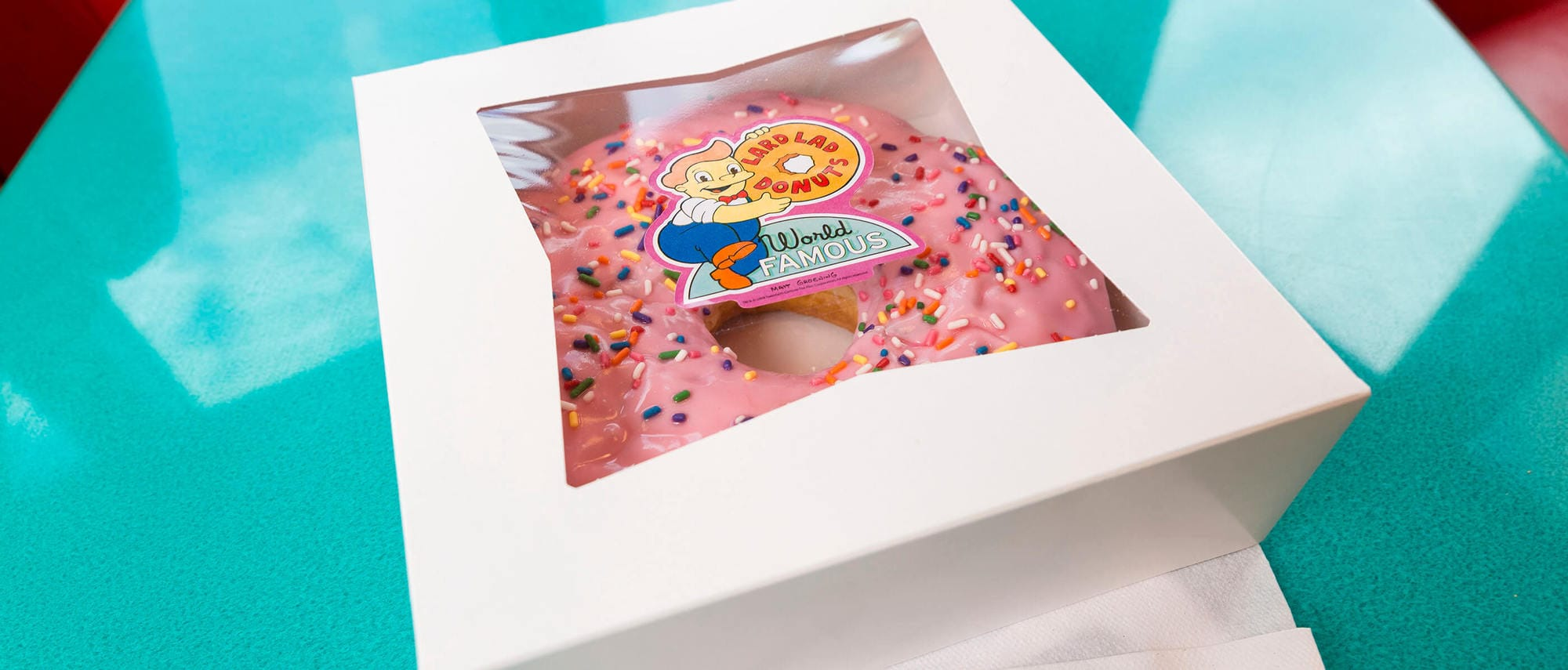 A Lard Lad Donut is a treat the whole family can share...and still have some leftover to eat later!