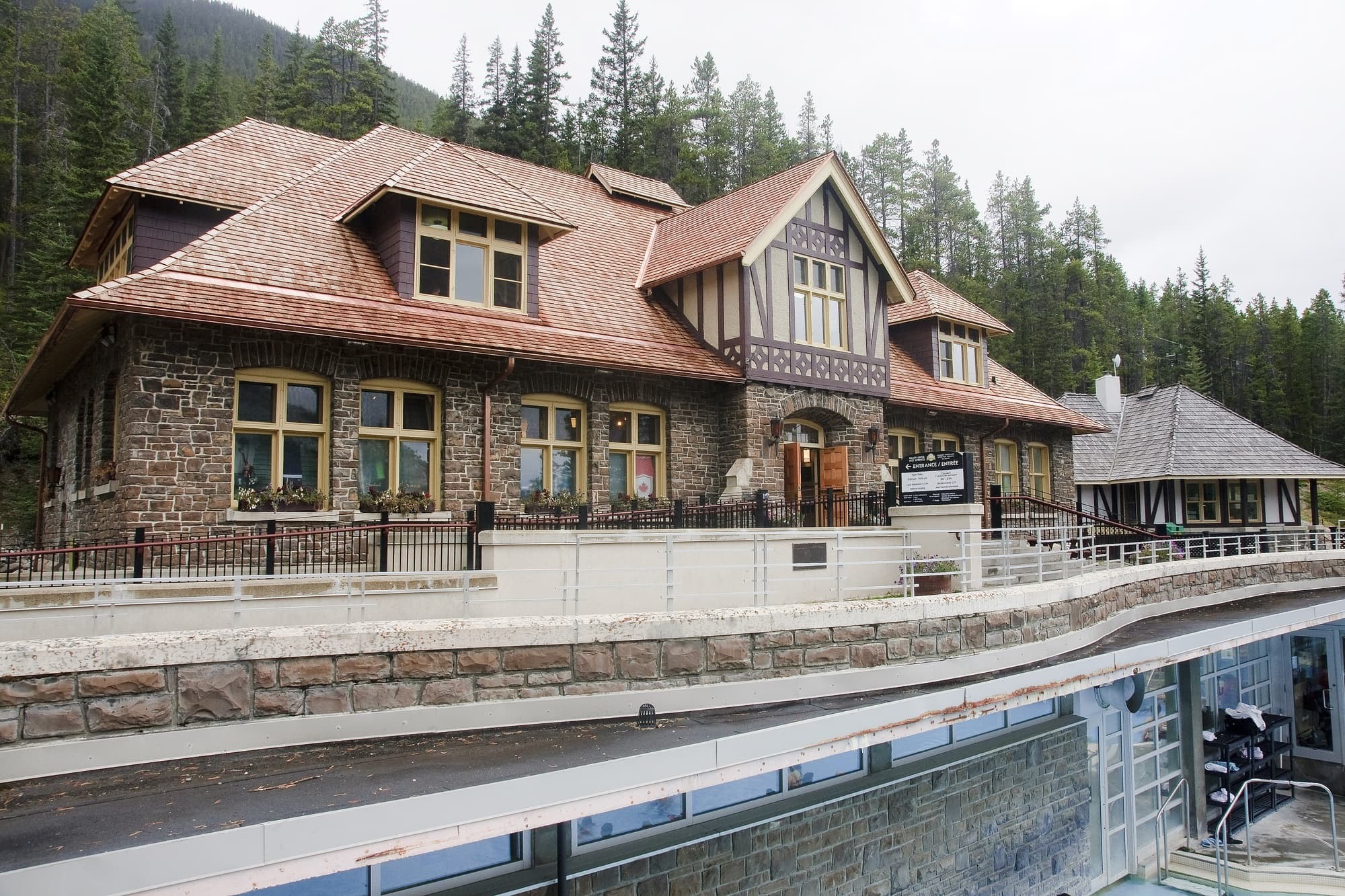 Banff Upper Hot Springs are a must for parents in need of serious relaxation