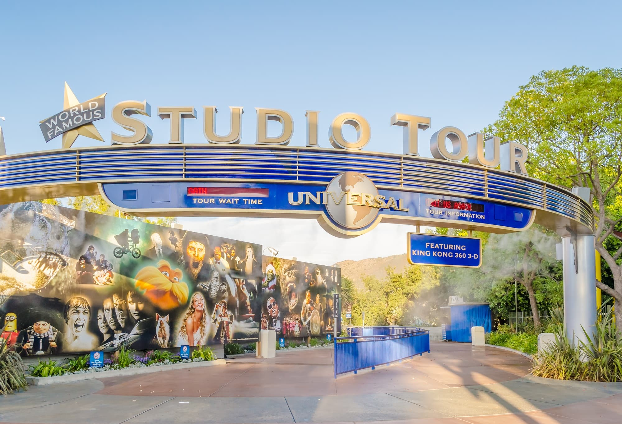 The Studio Tour is still one of the star attractions at Universal Studios Hollywood with kids