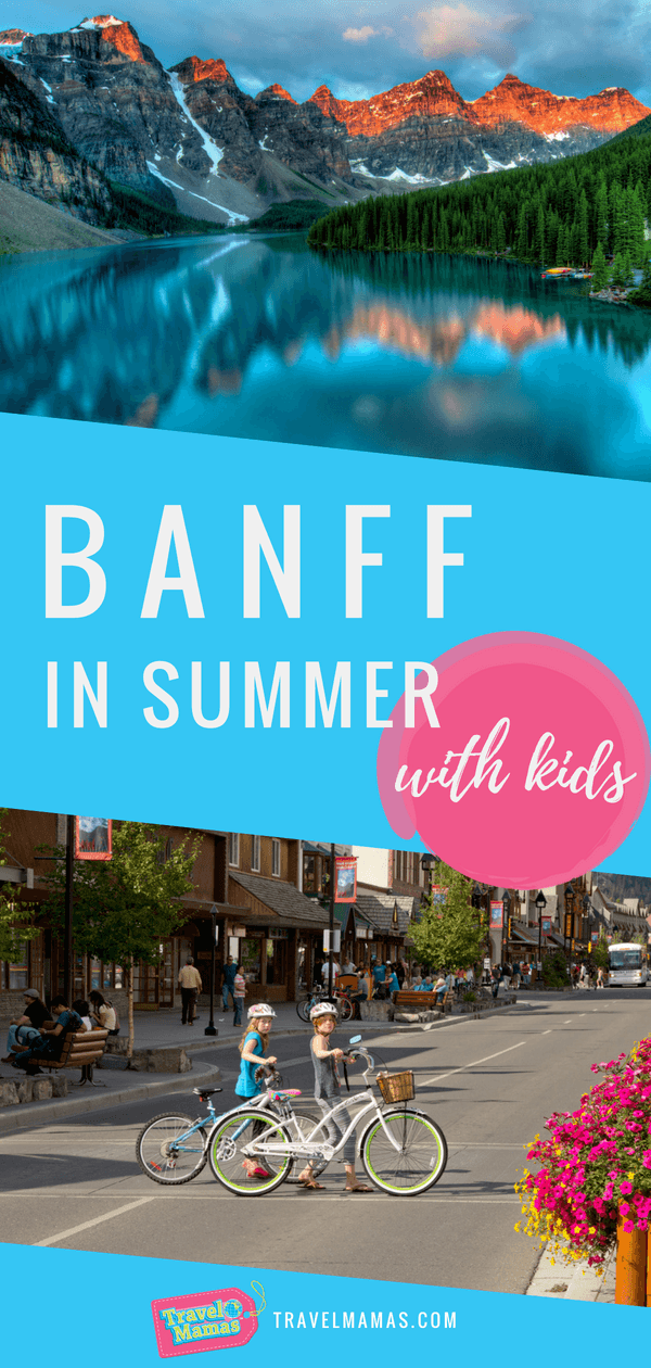 Things to do in Banff in Summer with Kids