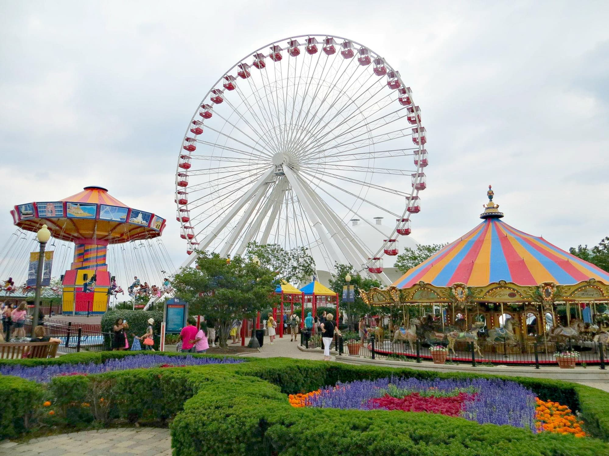 A ride on the Millennial Wheel is a must-do while in Chicago with kids