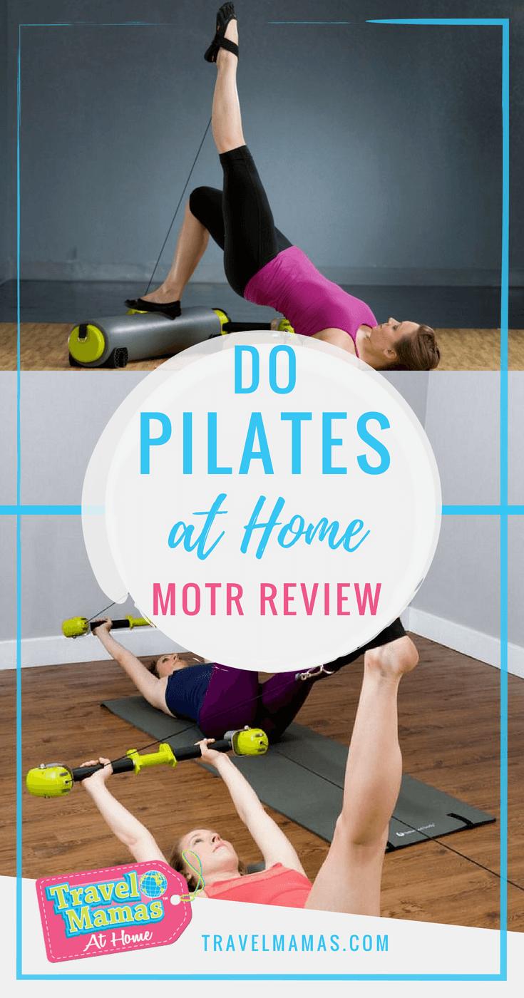Do Pilates at Home with MOTR