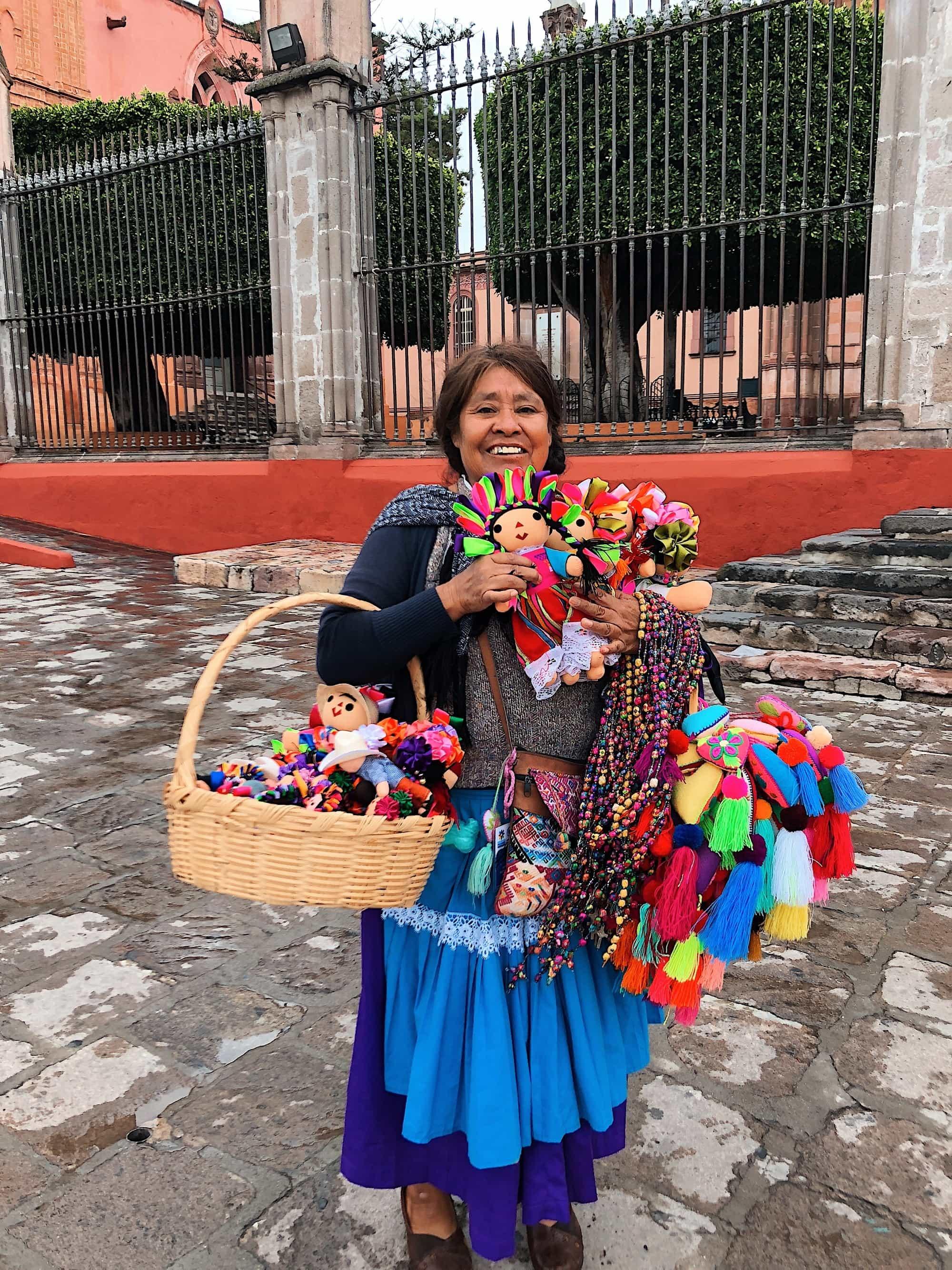 San Miguel de Allende dolls
