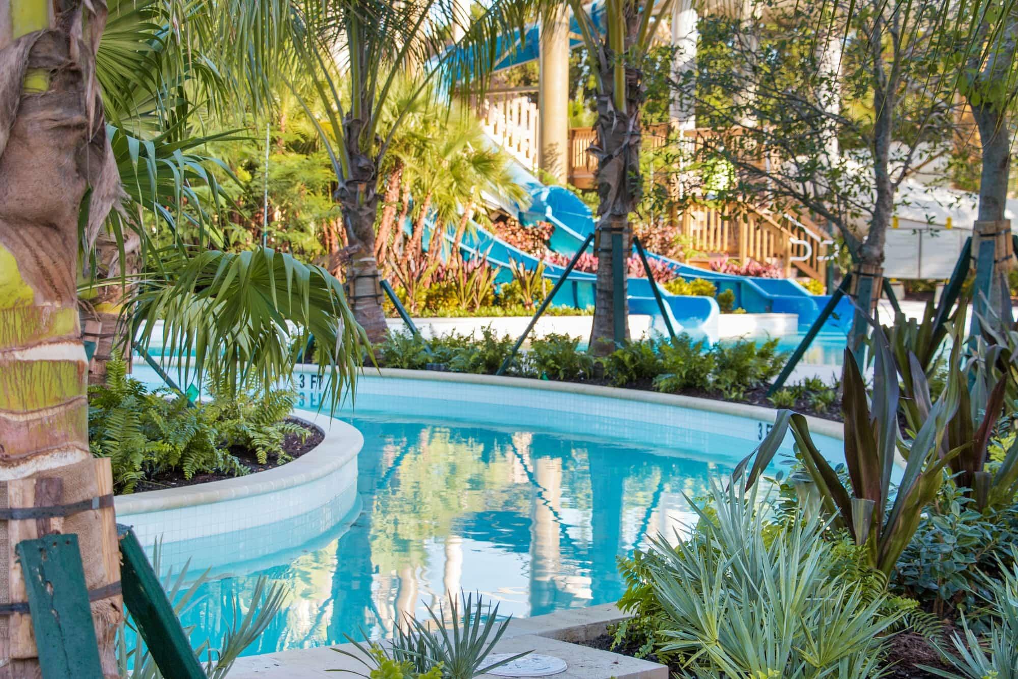 Hyatt Regency Coconut Point's lazy river ~ Best Hotels with Lazy Rivers
