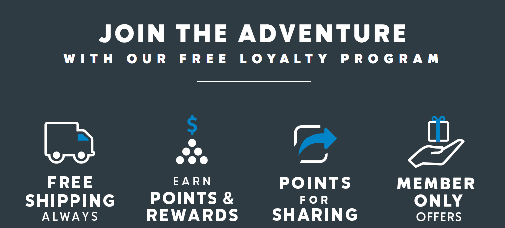 There are so many reasons to join the Columbia Loyalty Program