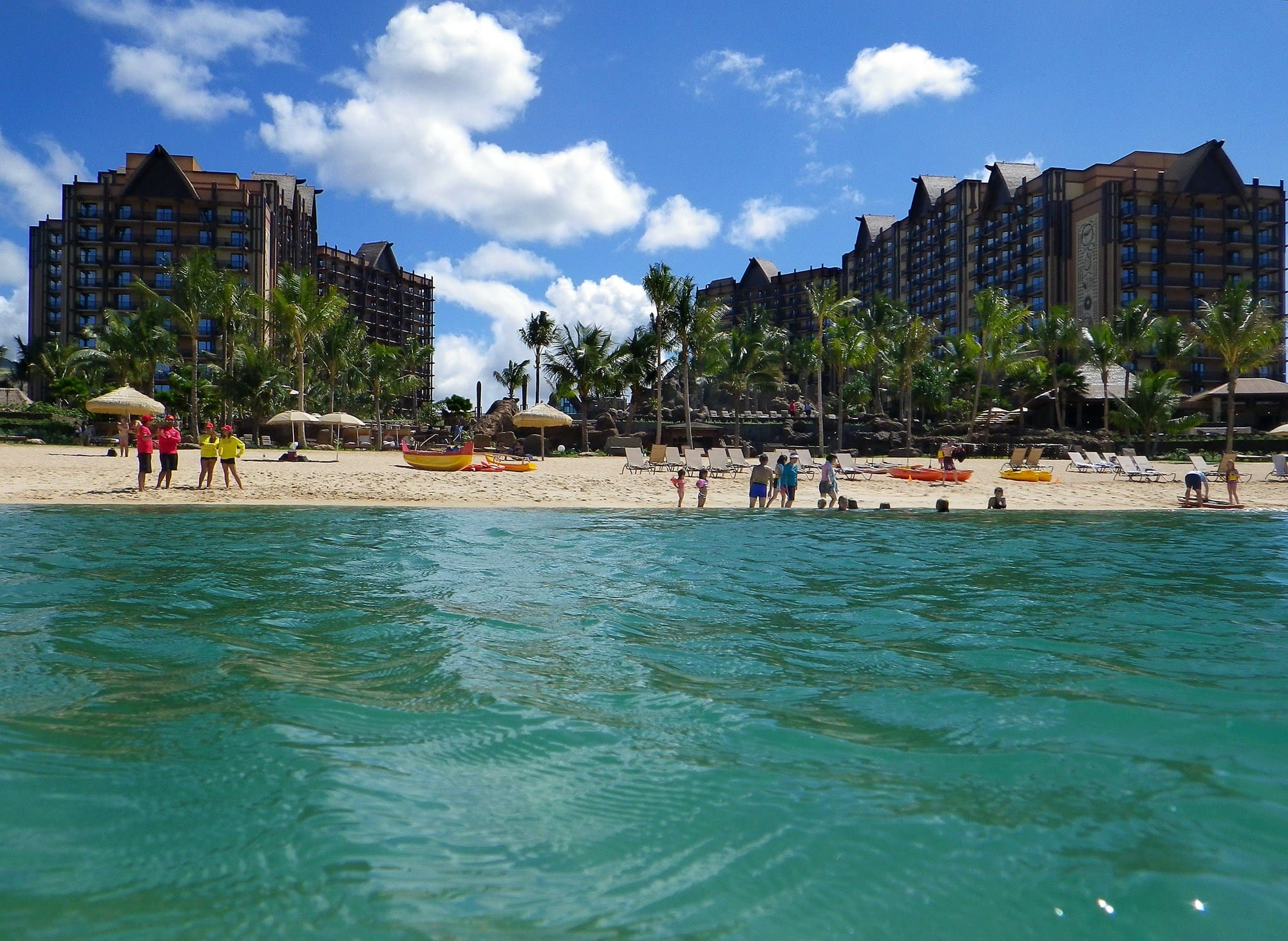 Ko'Olina Beach and Lagoon at Aulani