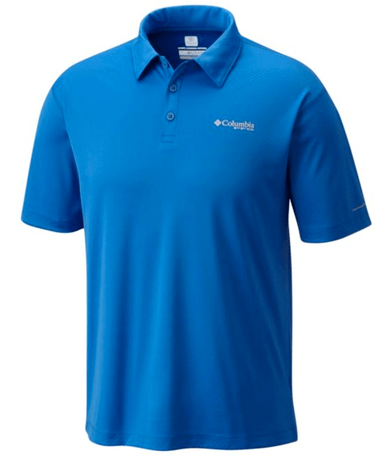 Columbia Men's PFG Zero Rules II Polo with special cooling technology