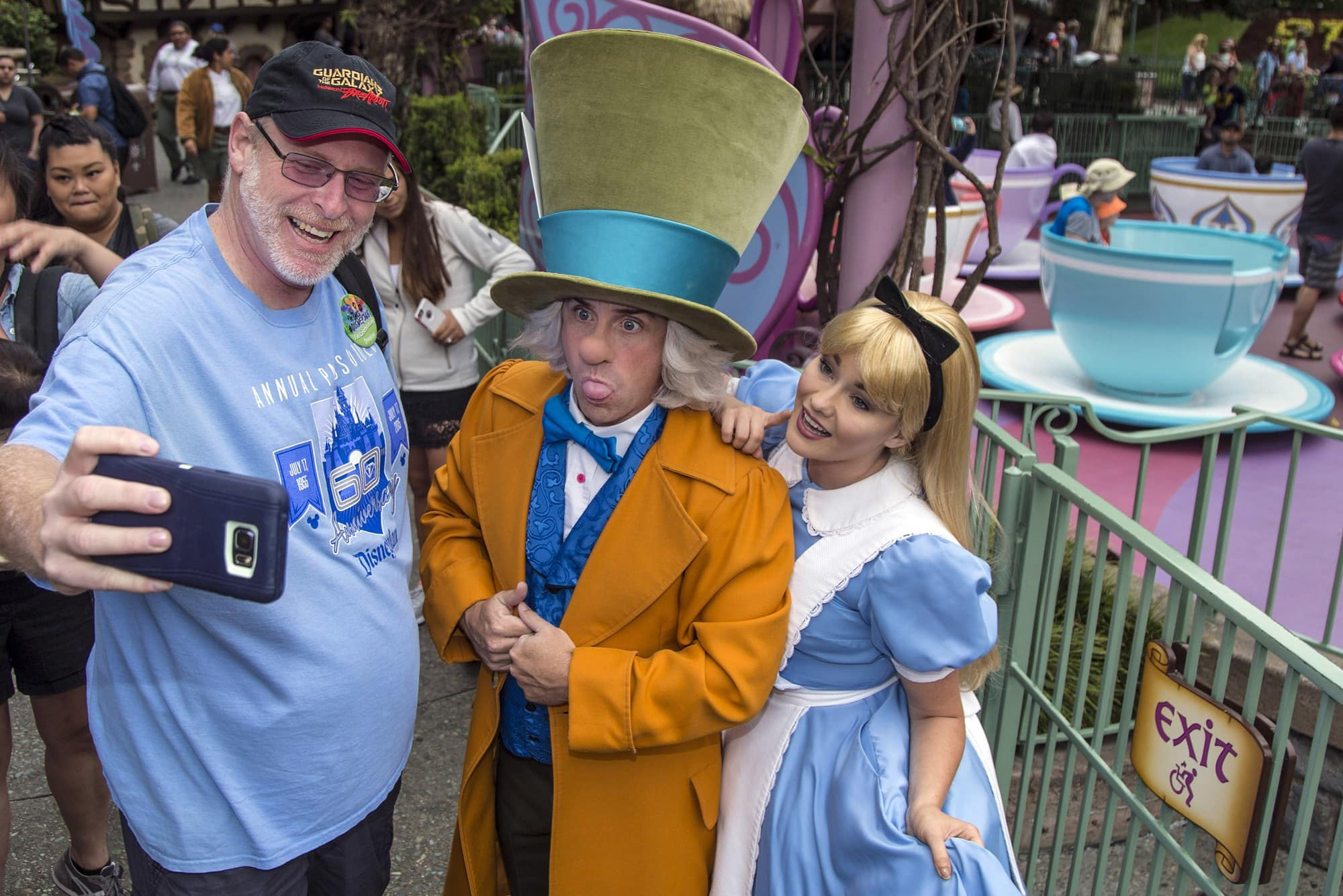 Charge your smart phone battery at Disneyland so you can keep snapping those selfies
