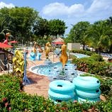 Beaches Negril pool area and lazy river