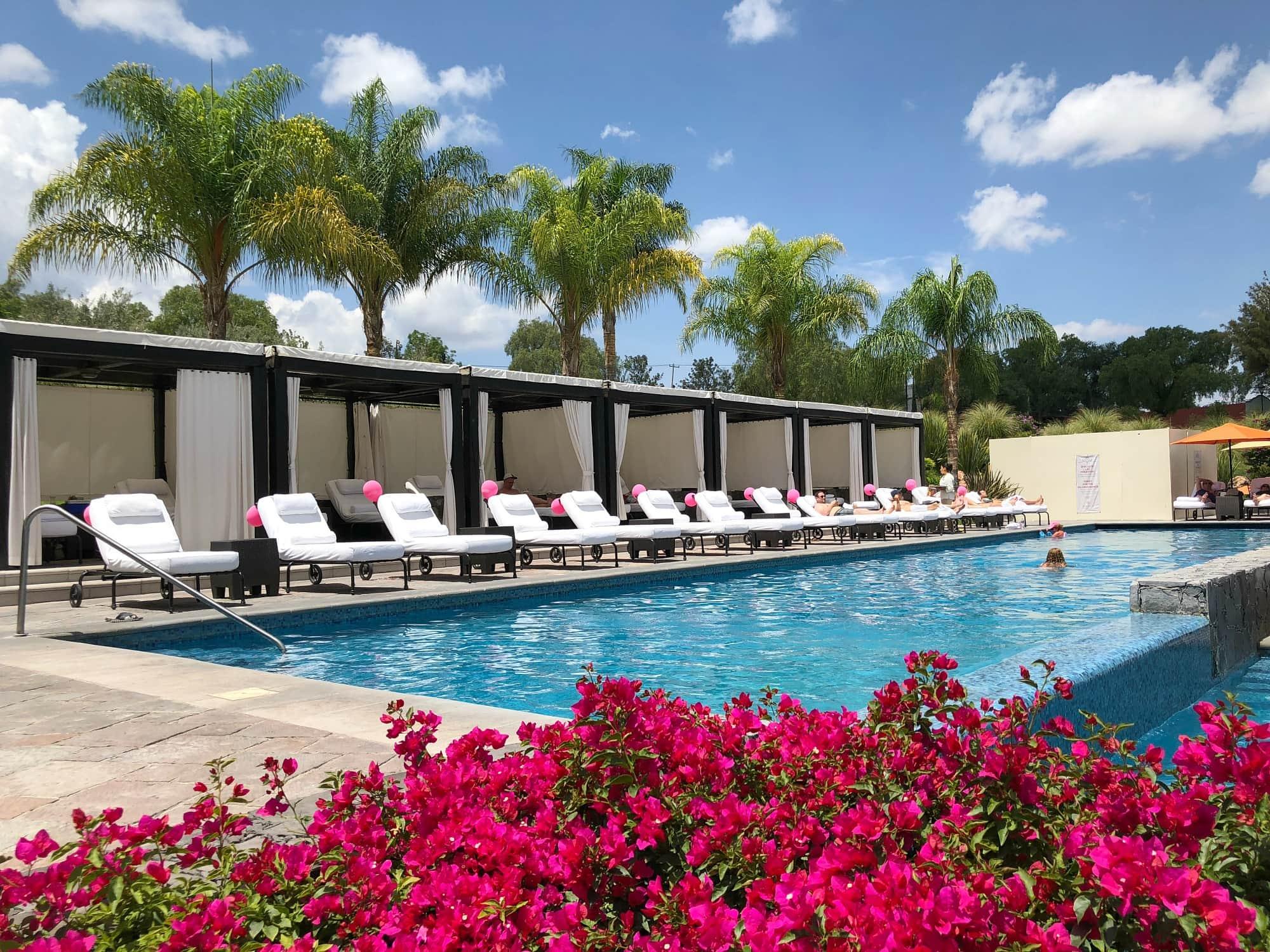 Rosewood Hotel San Miguel de Allende pool
