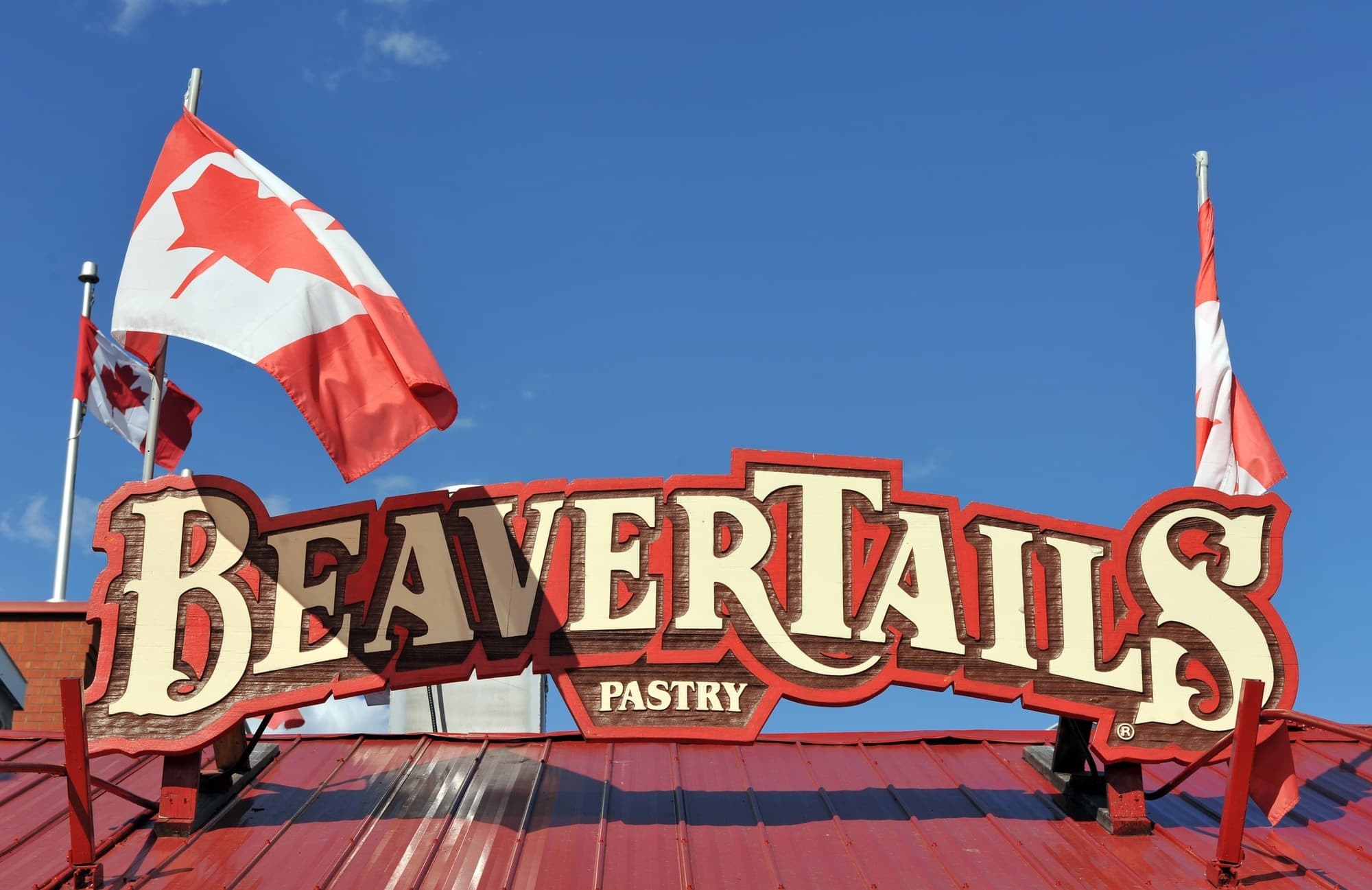Get a BeaverTail pastry at ByWard Market in Ottawa with kids
