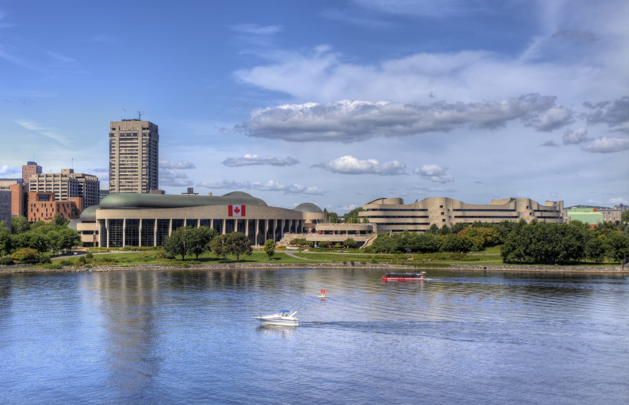 History buffs will definitely want to visit the Canadian Museum of History in Ottawa with kids