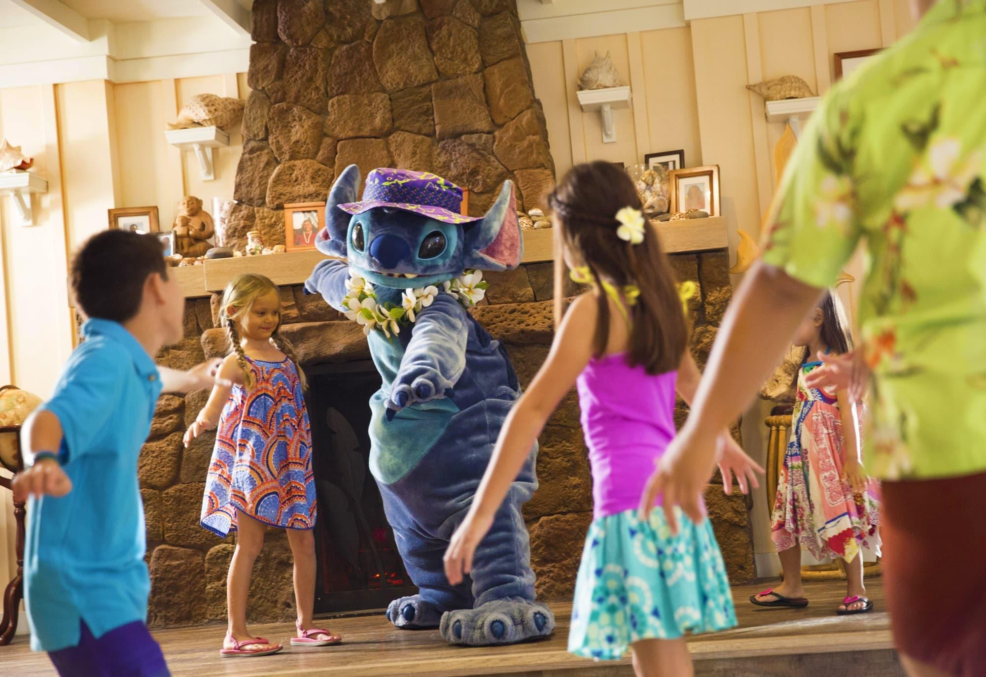 Kids attending Aunty's Beach House kids club
