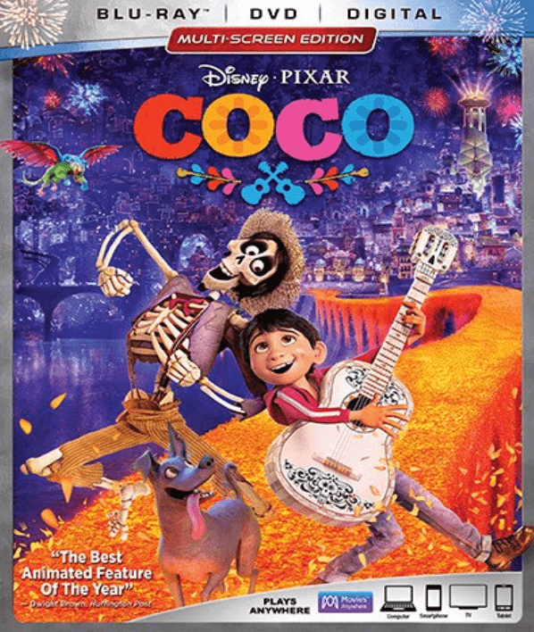 Coco - best travel movies for kids