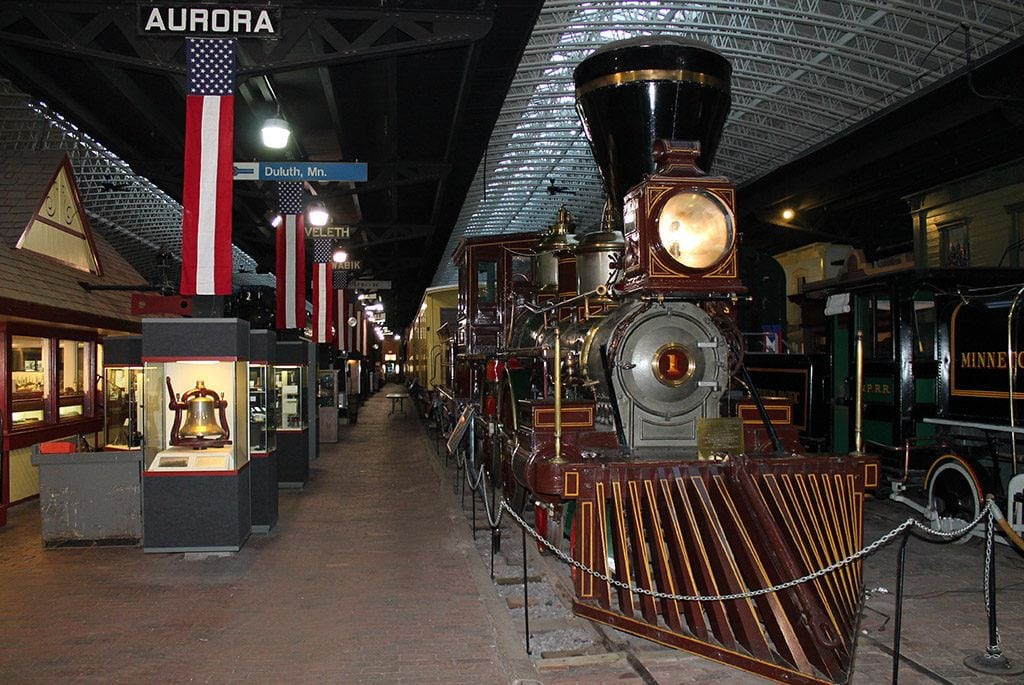 Lake Superior Railroad Museum in Duluth with kids