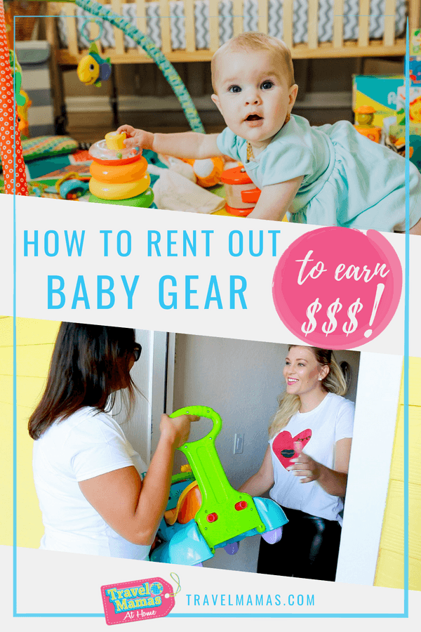 How to Rent Baby Gear to Traveling Families to Earn Money
