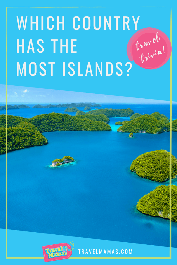 Which country has the most islands?