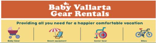 Baby Vallarta Gear Rentals