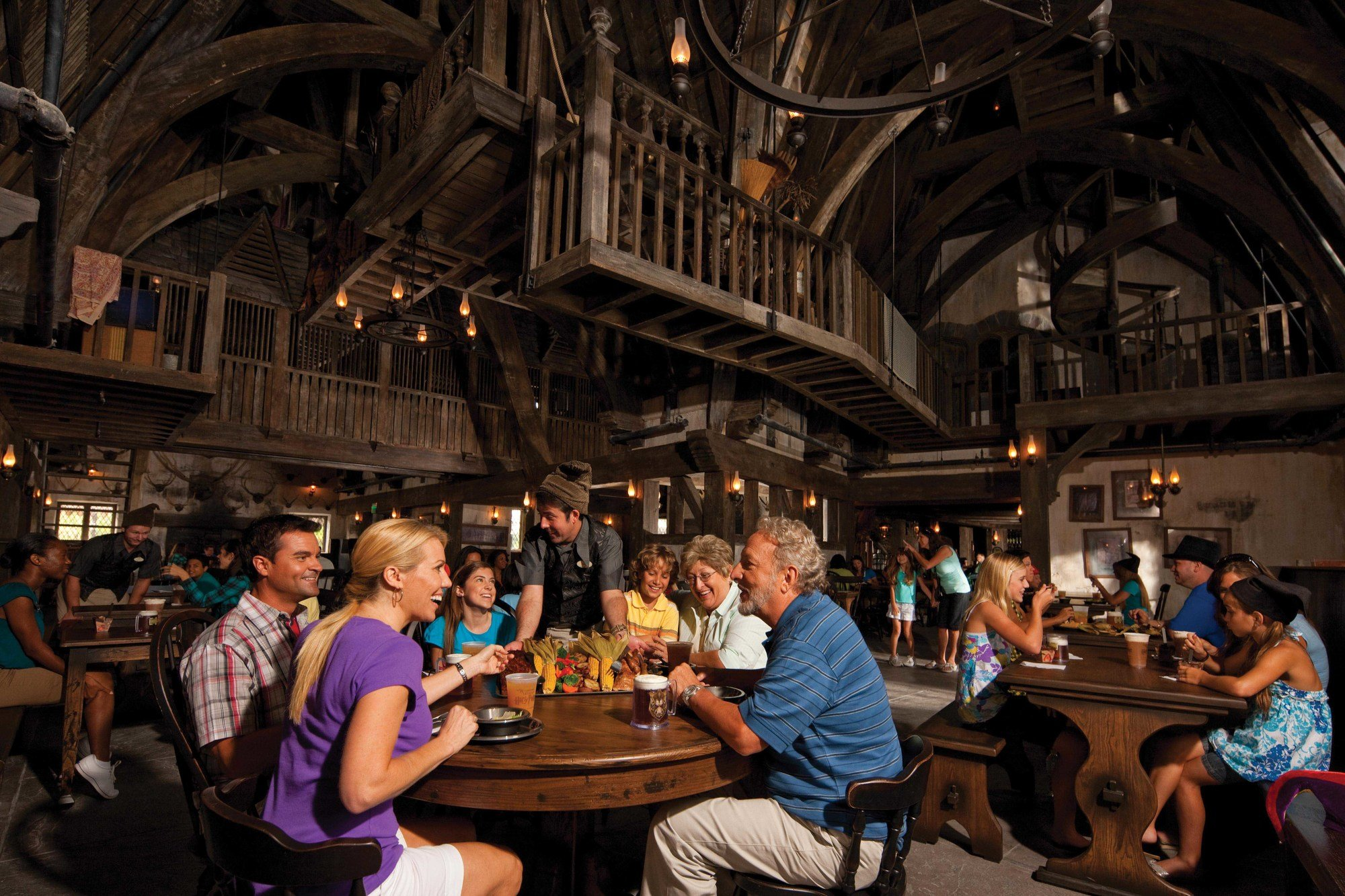 Dining at the Three Broomsticks is a must for Potterheads at Universal Studios Hollywood