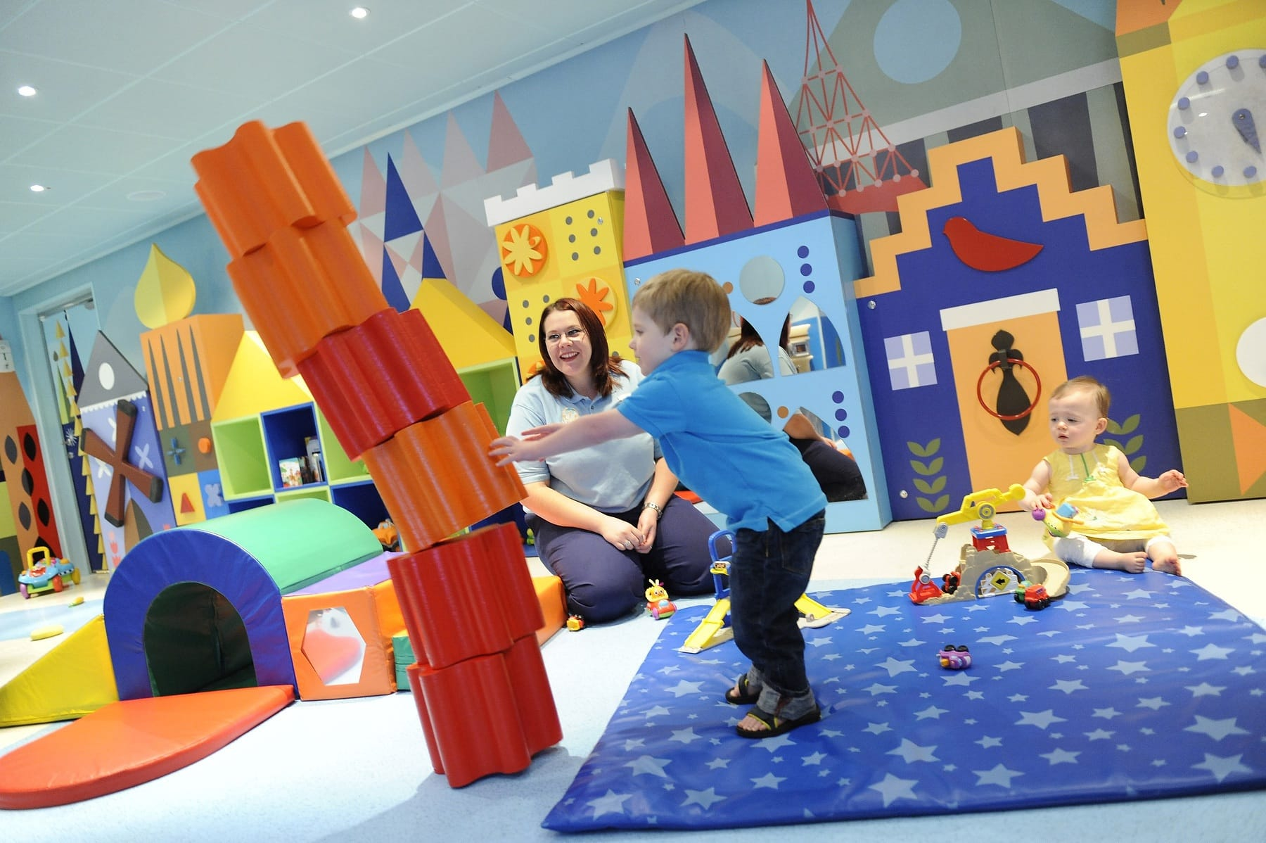 It's a Small World Nursery aboard Disney Dream for babies, toddler and preschoolers