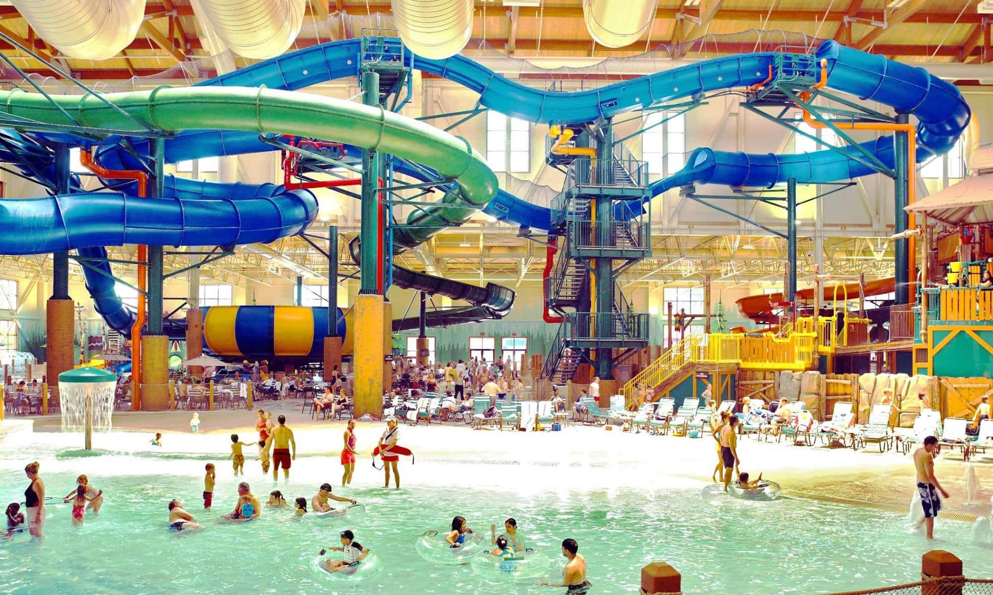 There's plenty for families to enjoy at the Great Wolf Lodge in Wisconsin Dells