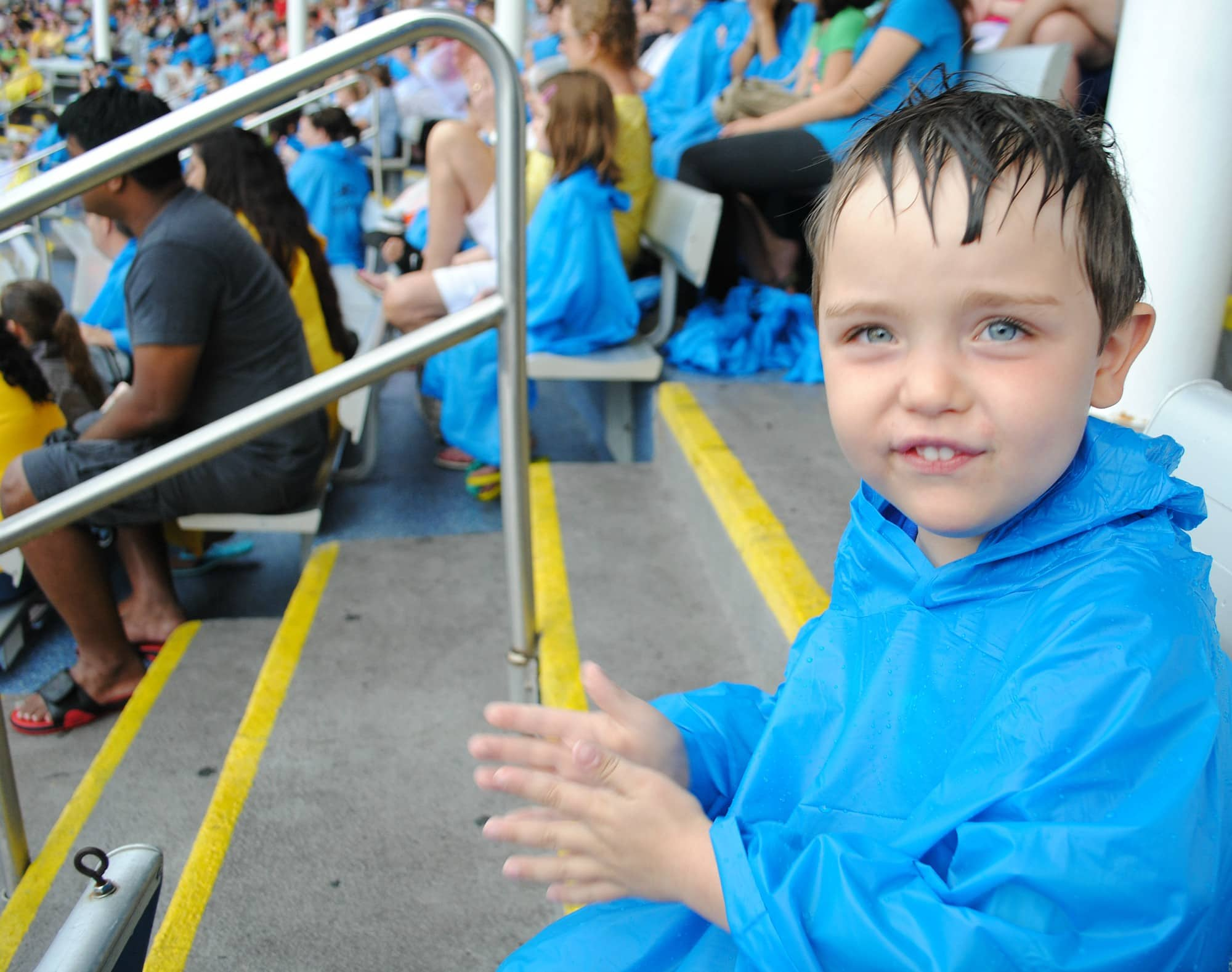 SeaWorld Orlando in the rain is still lots of fun for all ages