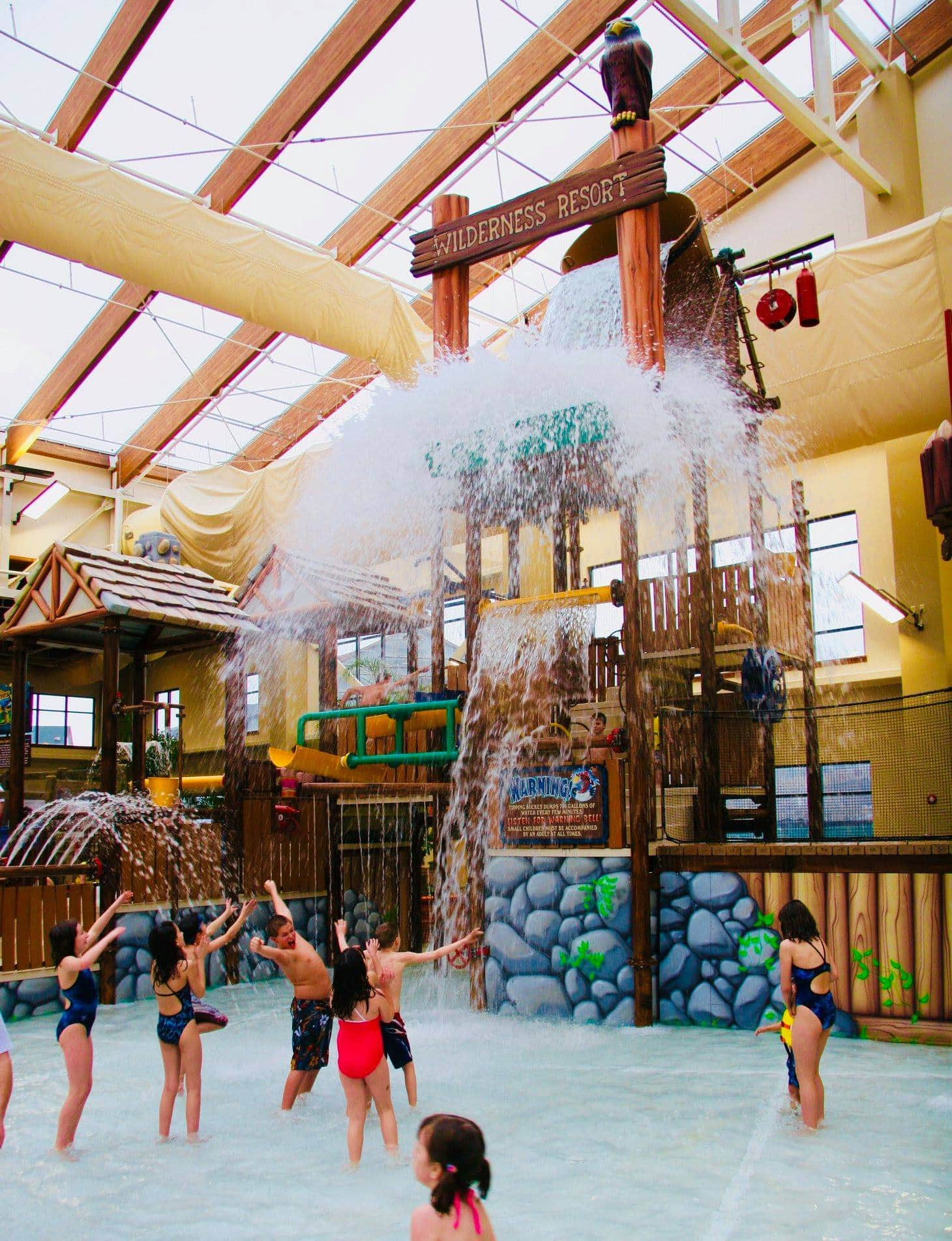 Wild Waterdome at Wilderness at the Smokies Resort ~ Best Indoor Hotel Pools for Families