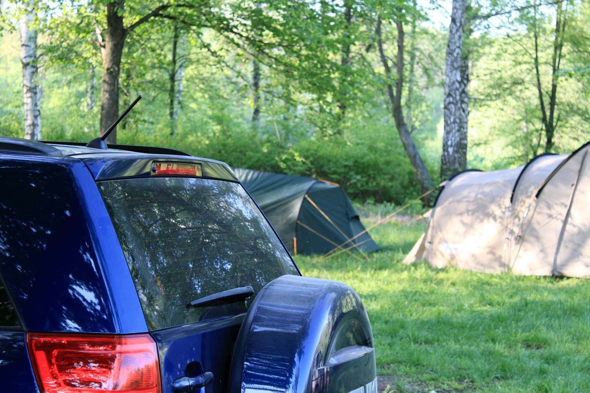 Camping is an affordable way to travel with kids