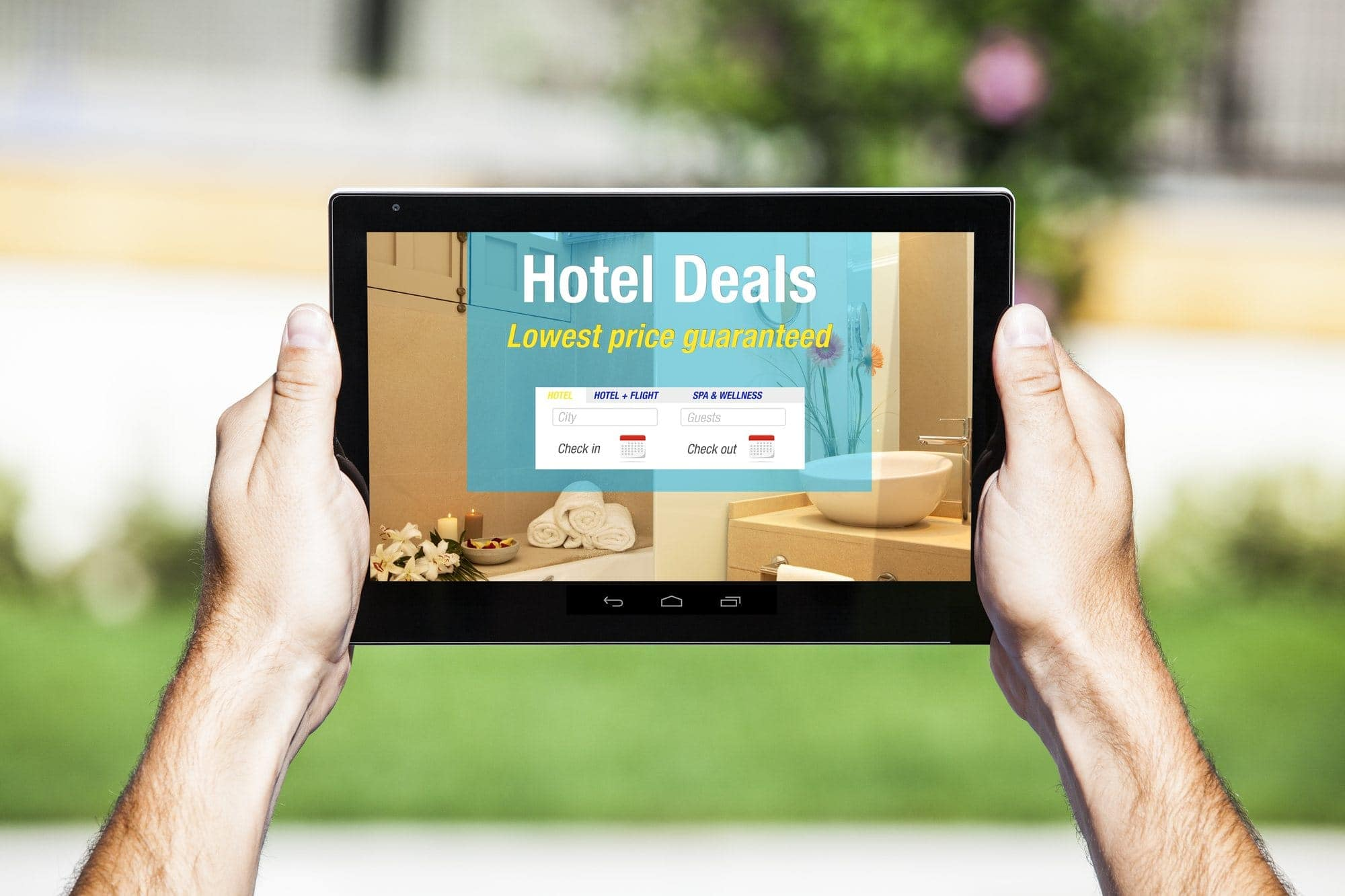 Use travel search aggregator sites to find deals on hotels, flights, rental cars and more