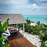View from private villa Sandy Toes Bahamas