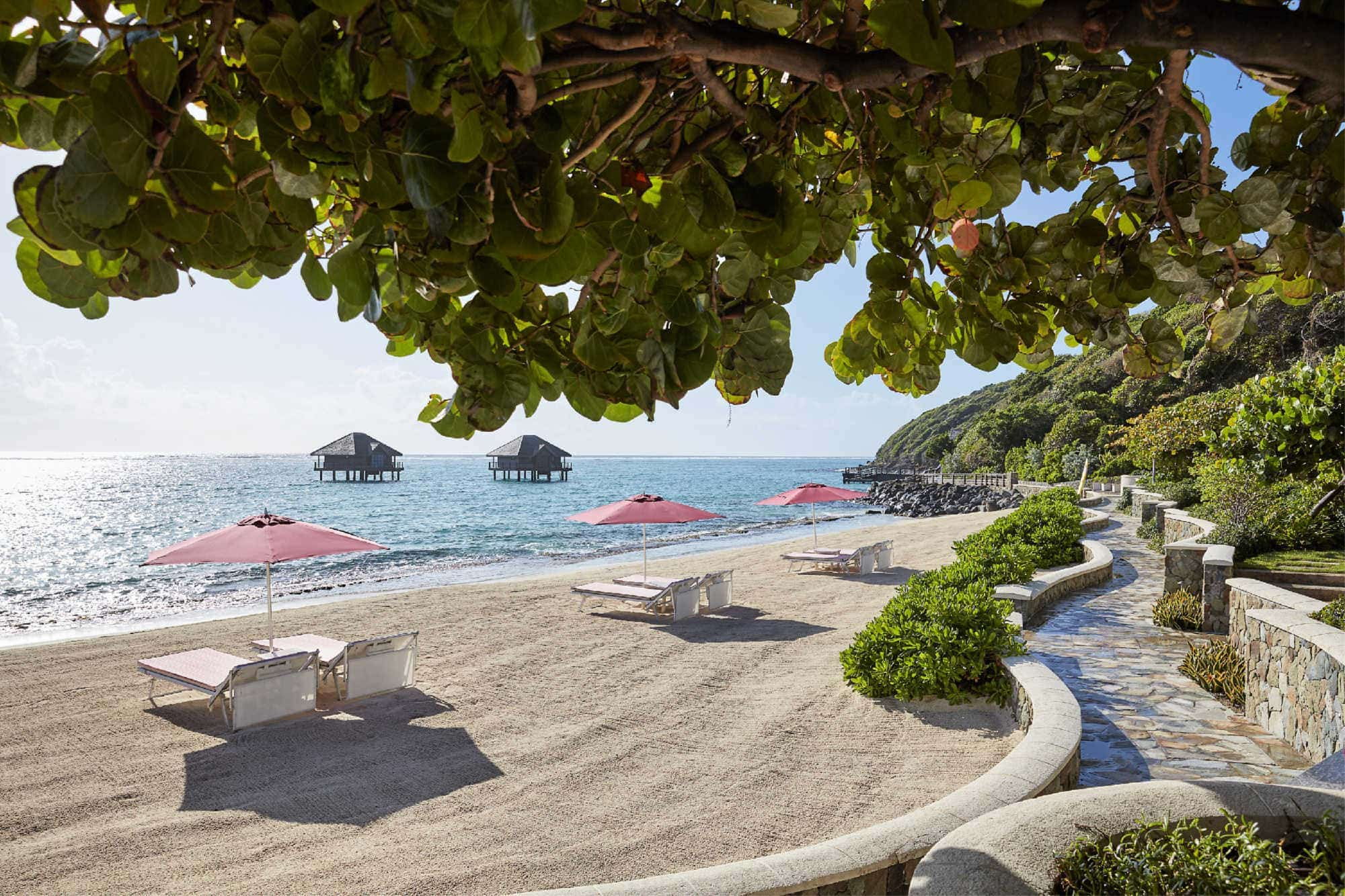 Plan for warm sand and seas this Thanksgiving at Mandarin Oriental, Canouan